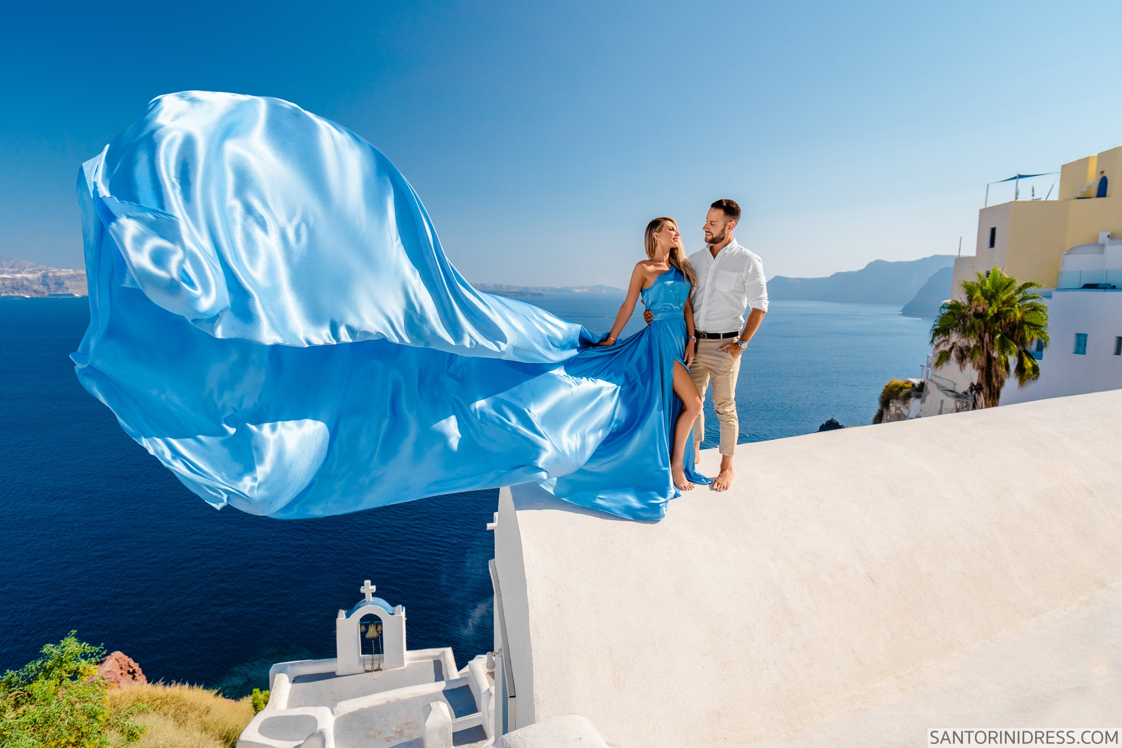 Регина и Андрей: свадьба на санторини, свадебное агентство Julia Veselova - Фото 3