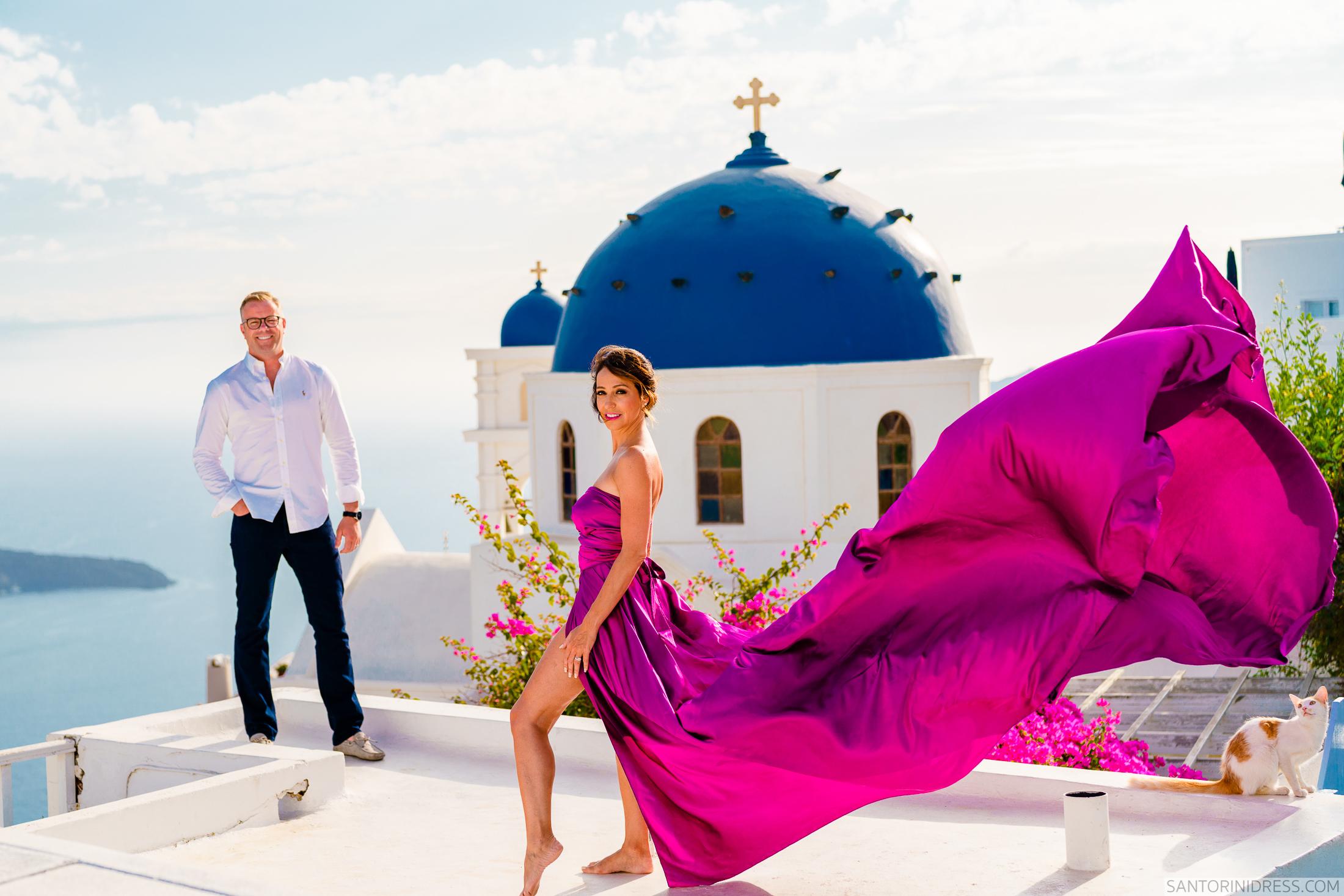 Владимир и Анна: свадьба на санторини, свадебное агентство Julia Veselova - Фото 1