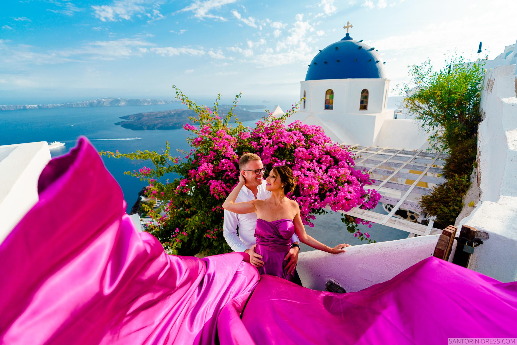 Владимир и Анна: свадьба на санторини, свадебное агентство Julia Veselova - Фото