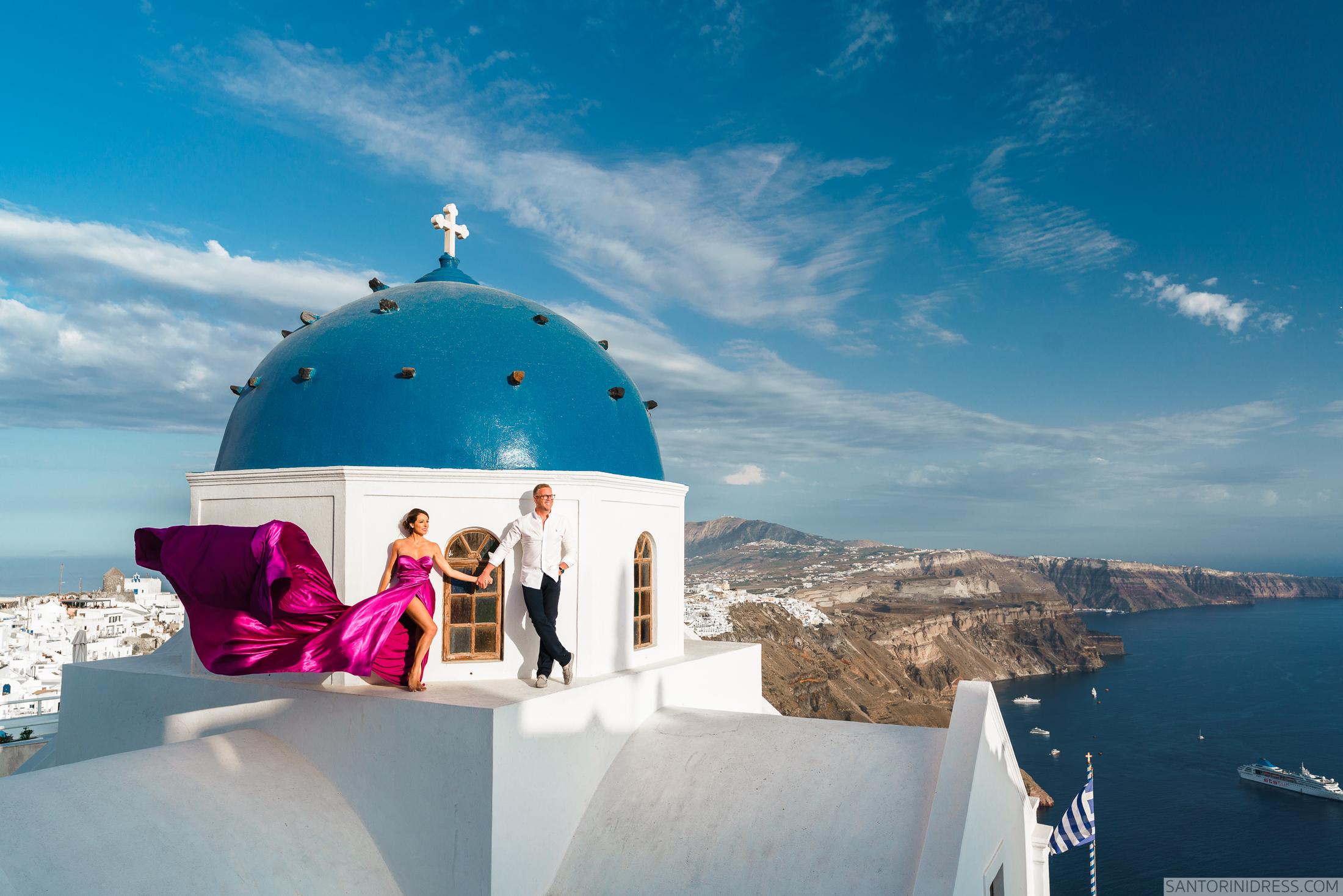 Владимир и Анна: свадьба на санторини, свадебное агентство Julia Veselova - Фото 3