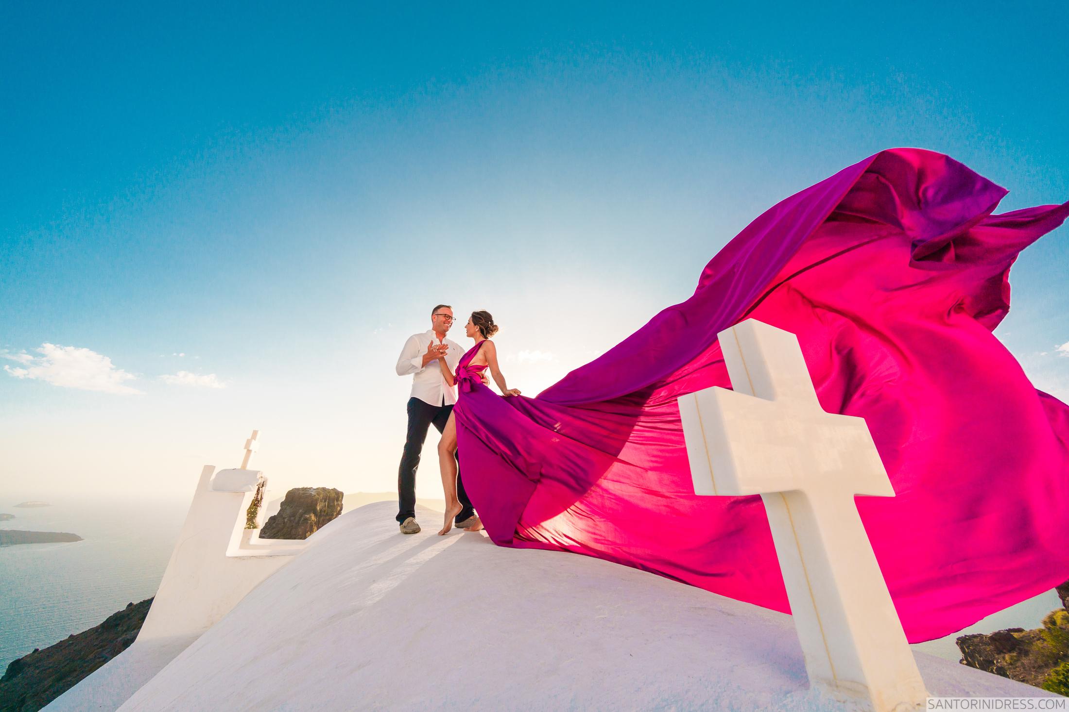 Владимир и Анна: свадьба на санторини, свадебное агентство Julia Veselova - Фото 5