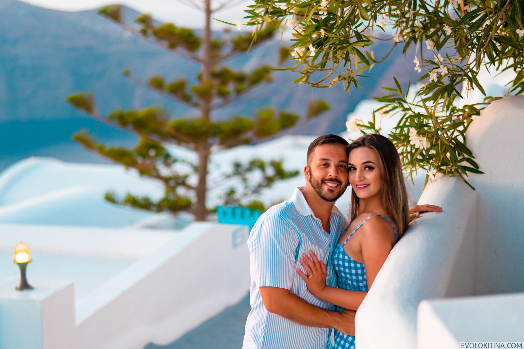 Роуз  и Джордан: свадьба на санторини, свадебное агентство Julia Veselova - Фото 7