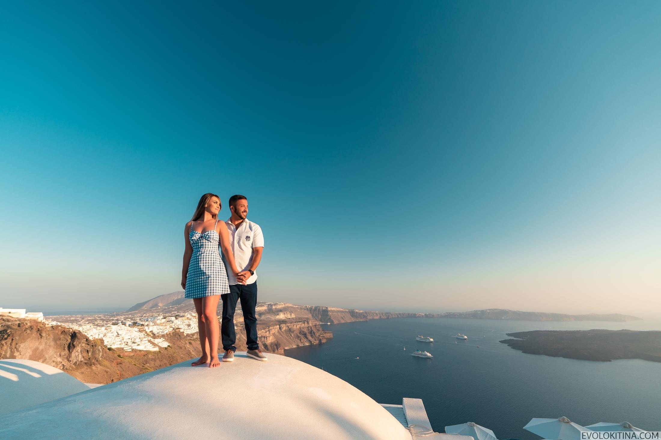 Роуз  и Джордан: свадьба на санторини, свадебное агентство Julia Veselova - Фото 8