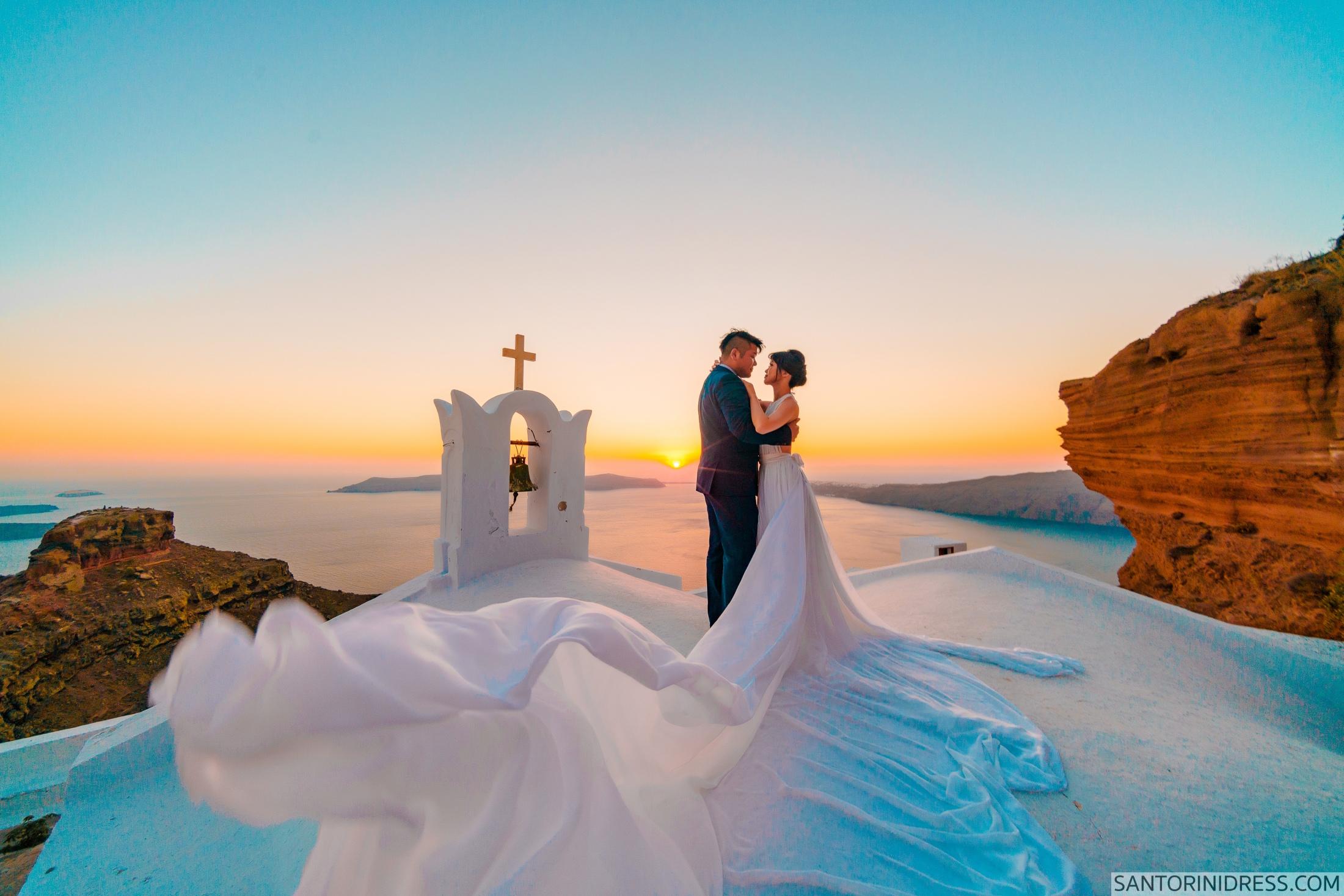Миу и Чонг: свадьба на санторини, свадебное агентство Julia Veselova - Фото 8