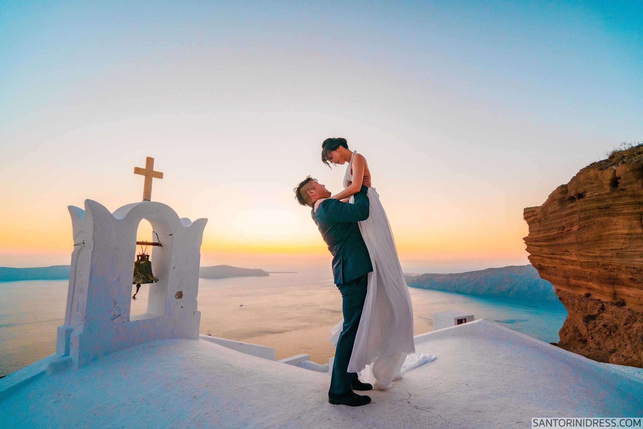 Миу и Чонг: свадьба на санторини, свадебное агентство Julia Veselova - Фото 9