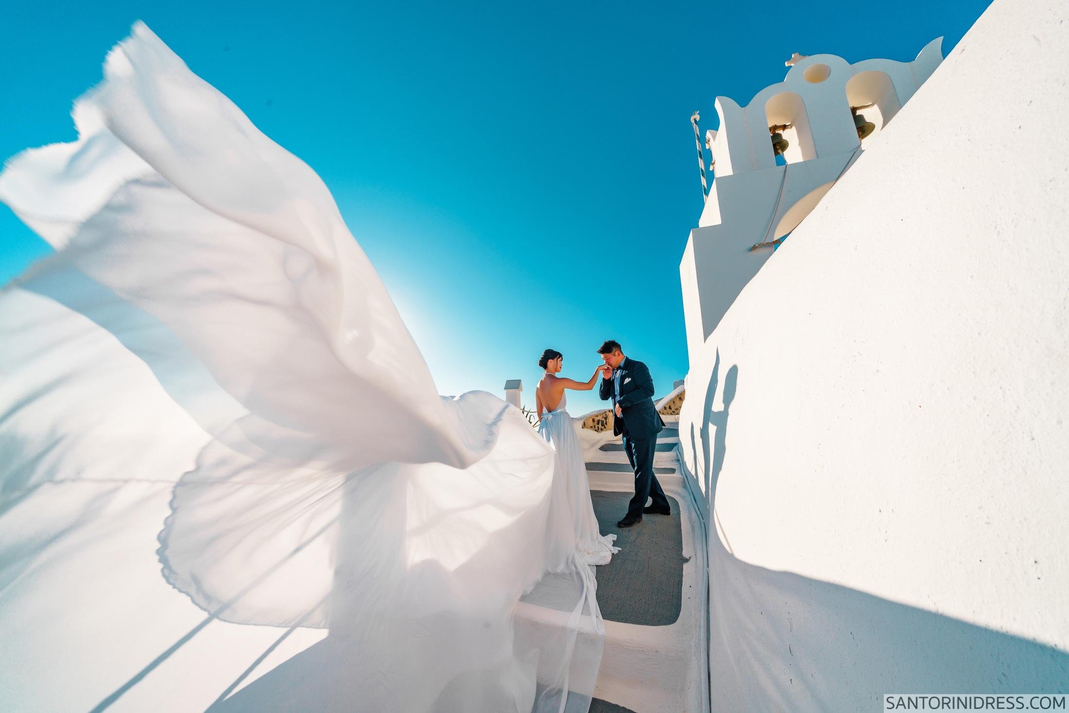 Миу и Чонг: свадьба на санторини, свадебное агентство Julia Veselova - Фото 11
