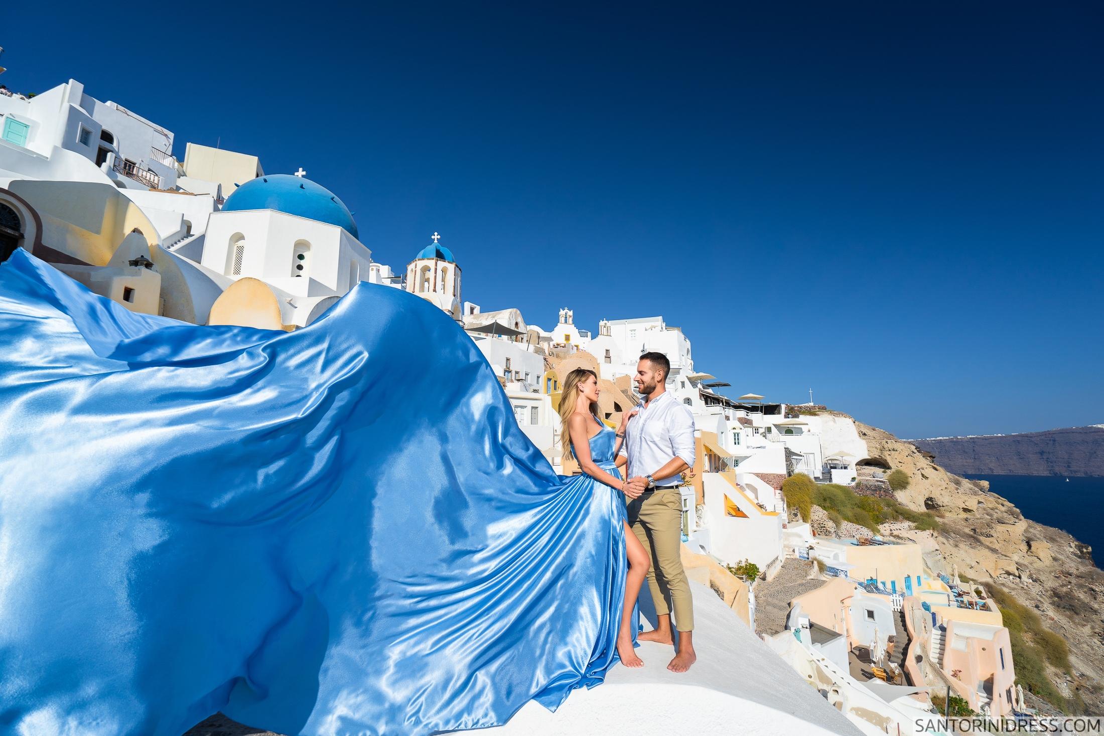 Регина и Андрей: свадьба на санторини, свадебное агентство Julia Veselova - Фото 5