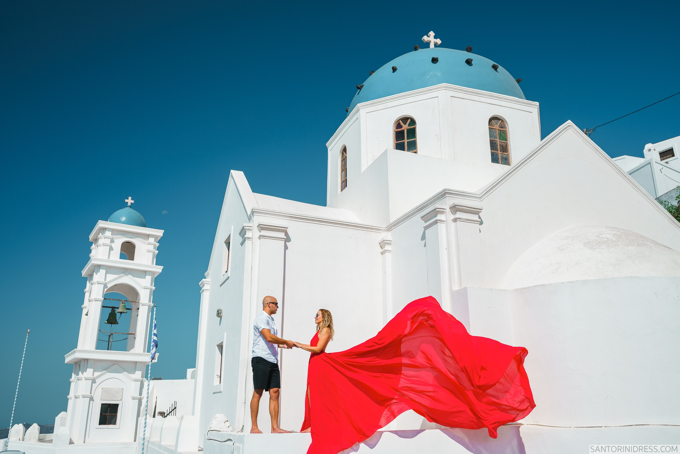 Милана и Антон: свадьба на санторини, свадебное агентство Julia Veselova - Фото 3