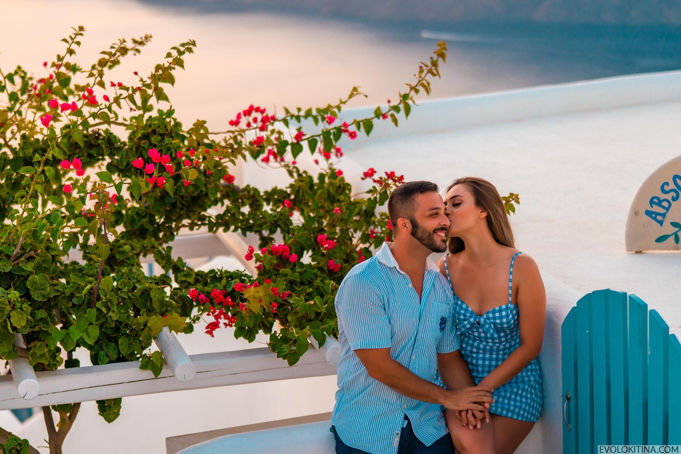 Роуз  и Джордан: свадьба на санторини, свадебное агентство Julia Veselova - Фото 1