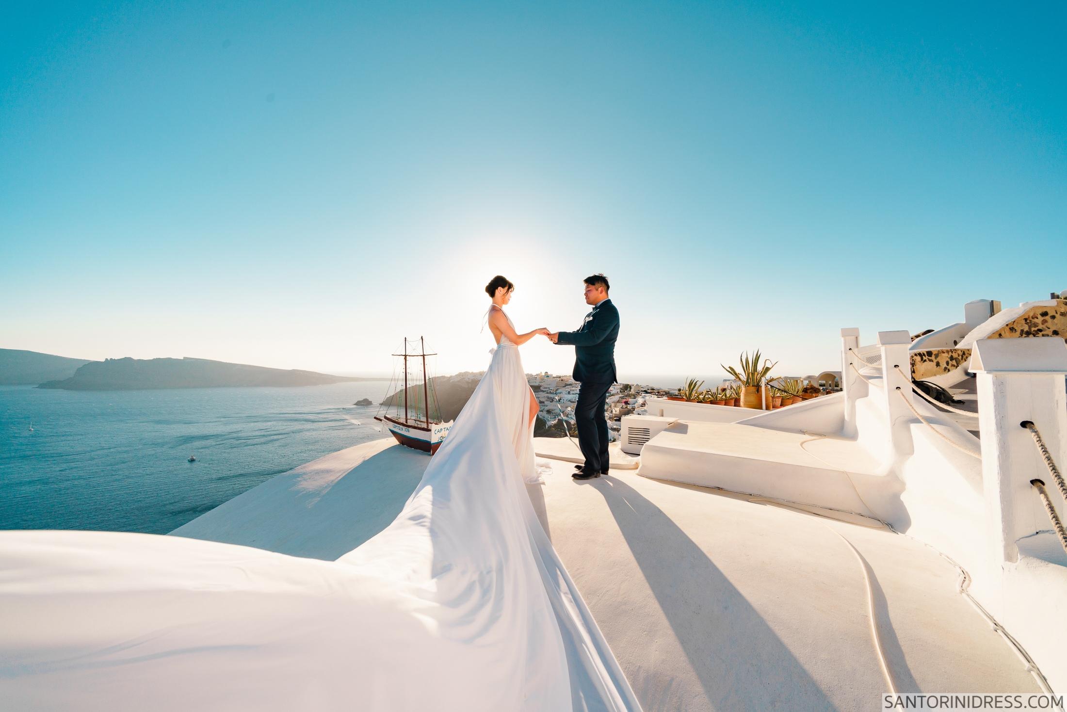 Миу и Чонг: свадьба на санторини, свадебное агентство Julia Veselova - Фото 4