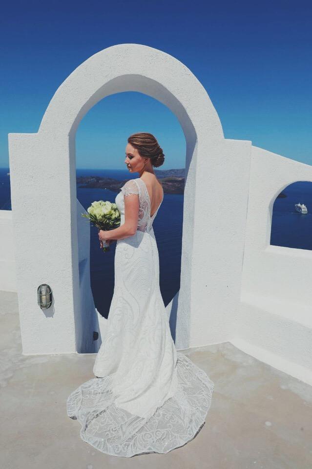 Анастасия и  Алексей: свадьба на санторини, свадебное агентство Julia Veselova - Фото 3