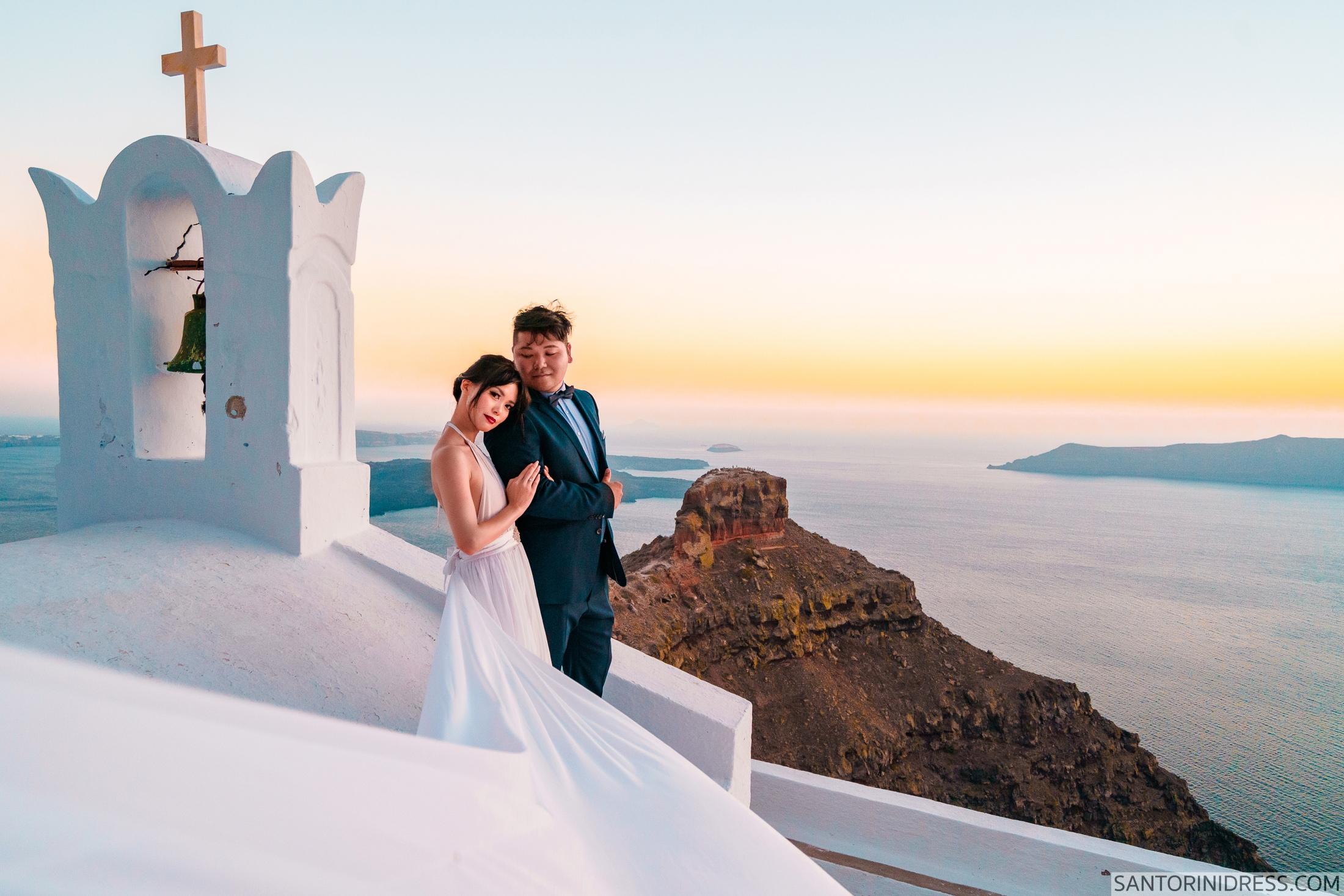 Миу и Чонг: свадьба на санторини, свадебное агентство Julia Veselova - Фото 5