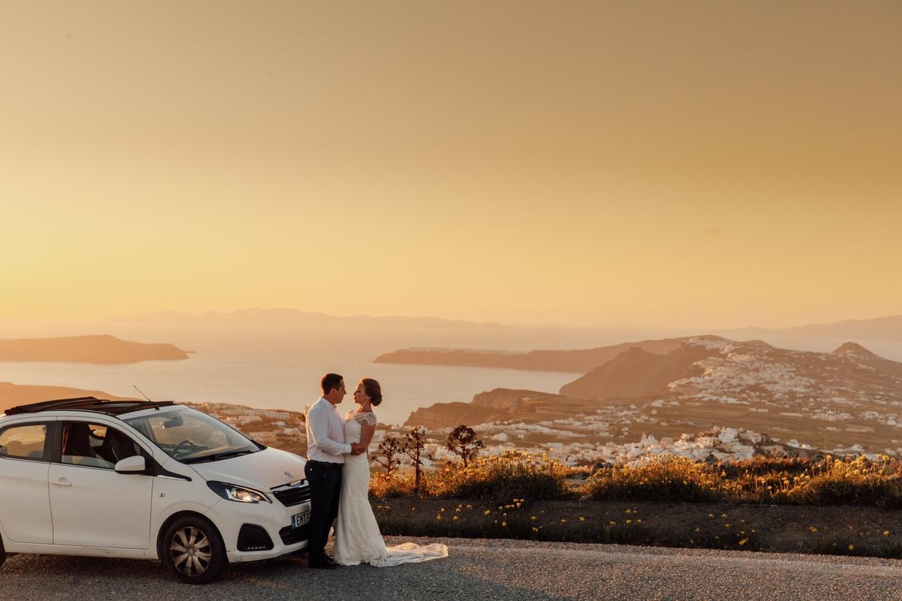 Анастасия и  Алексей: свадьба на санторини, свадебное агентство Julia Veselova - Фото 4