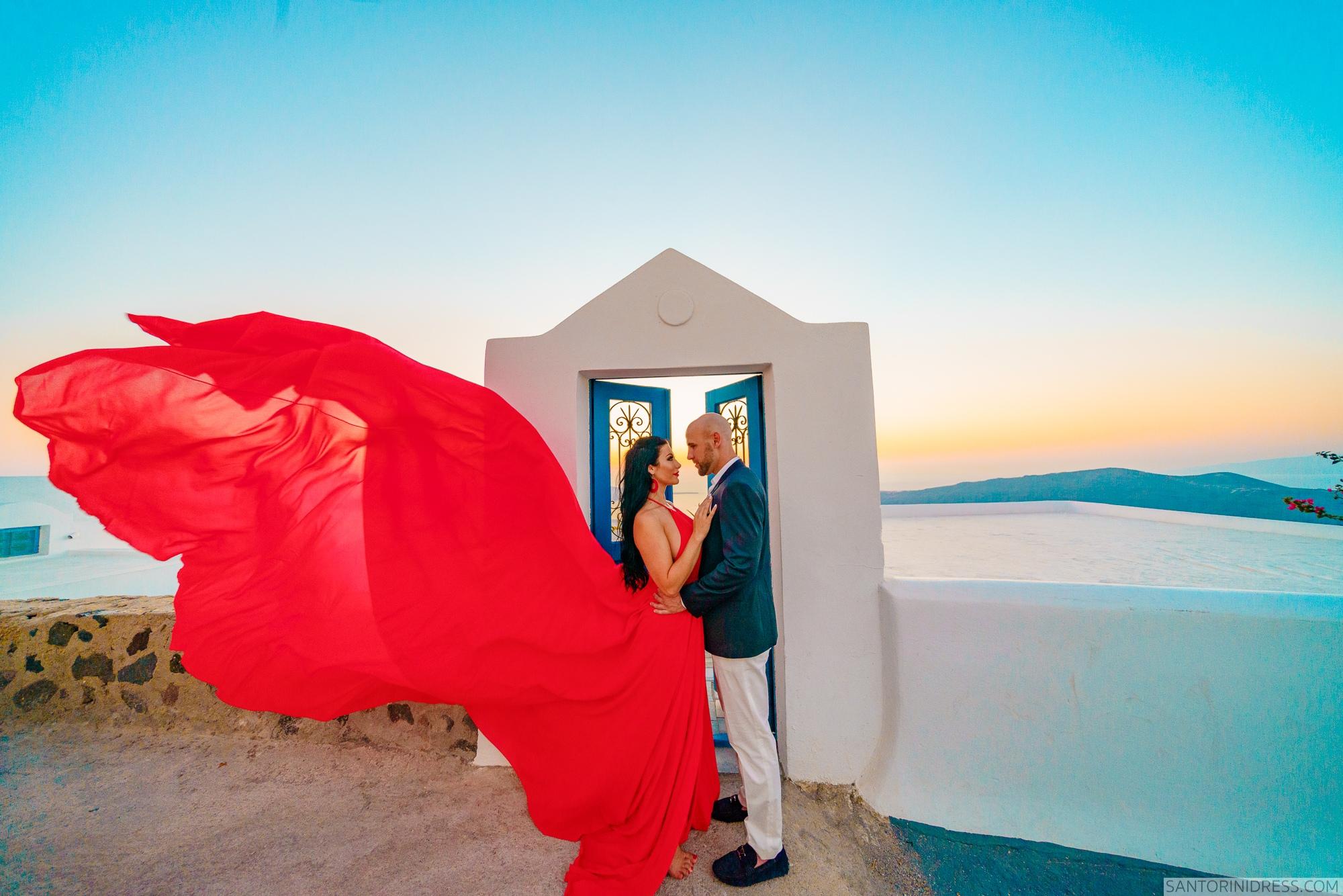 Татьяна и Виталий: свадьба на санторини, свадебное агентство Julia Veselova - Фото 4
