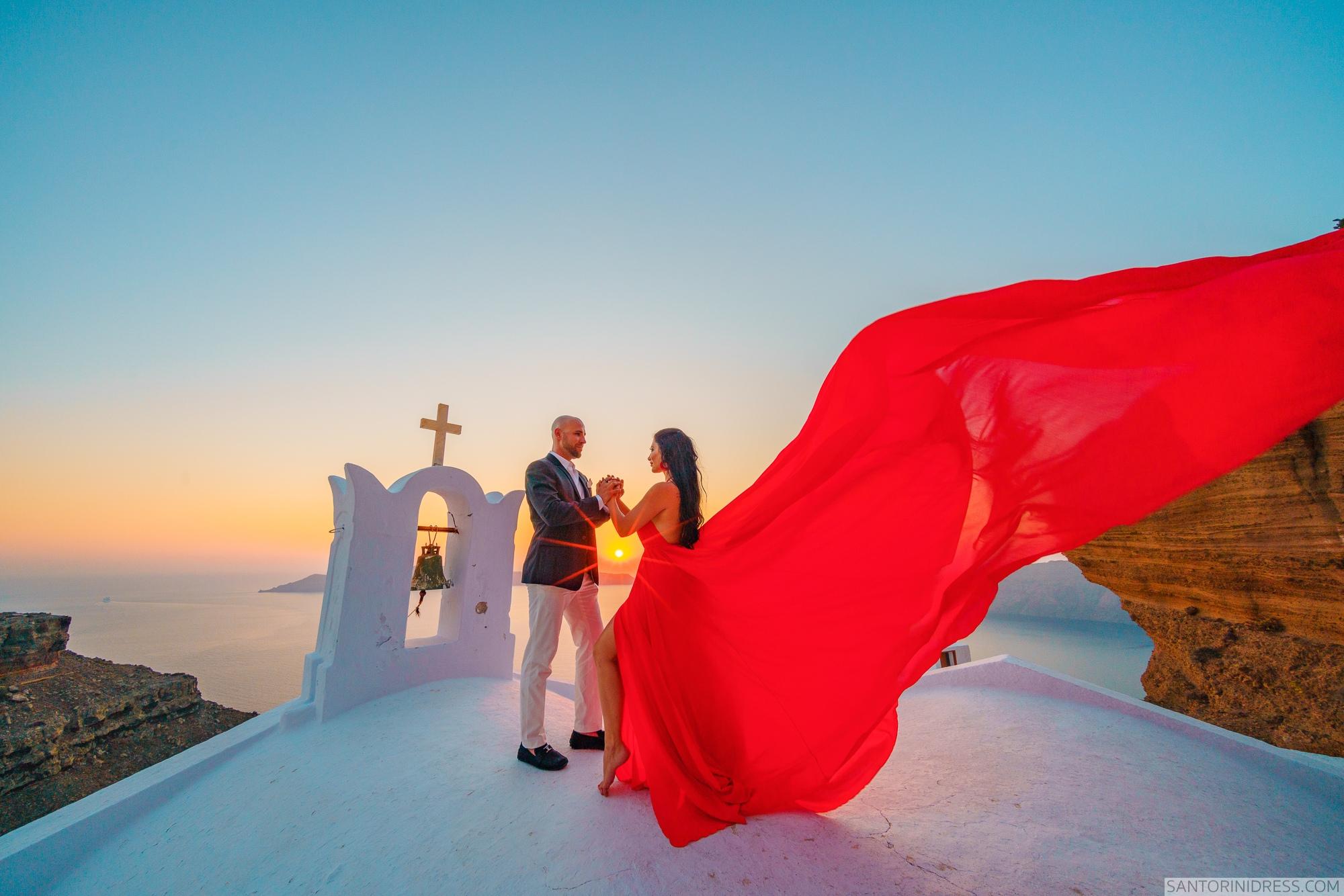 Татьяна и Виталий: свадьба на санторини, свадебное агентство Julia Veselova - Фото 3