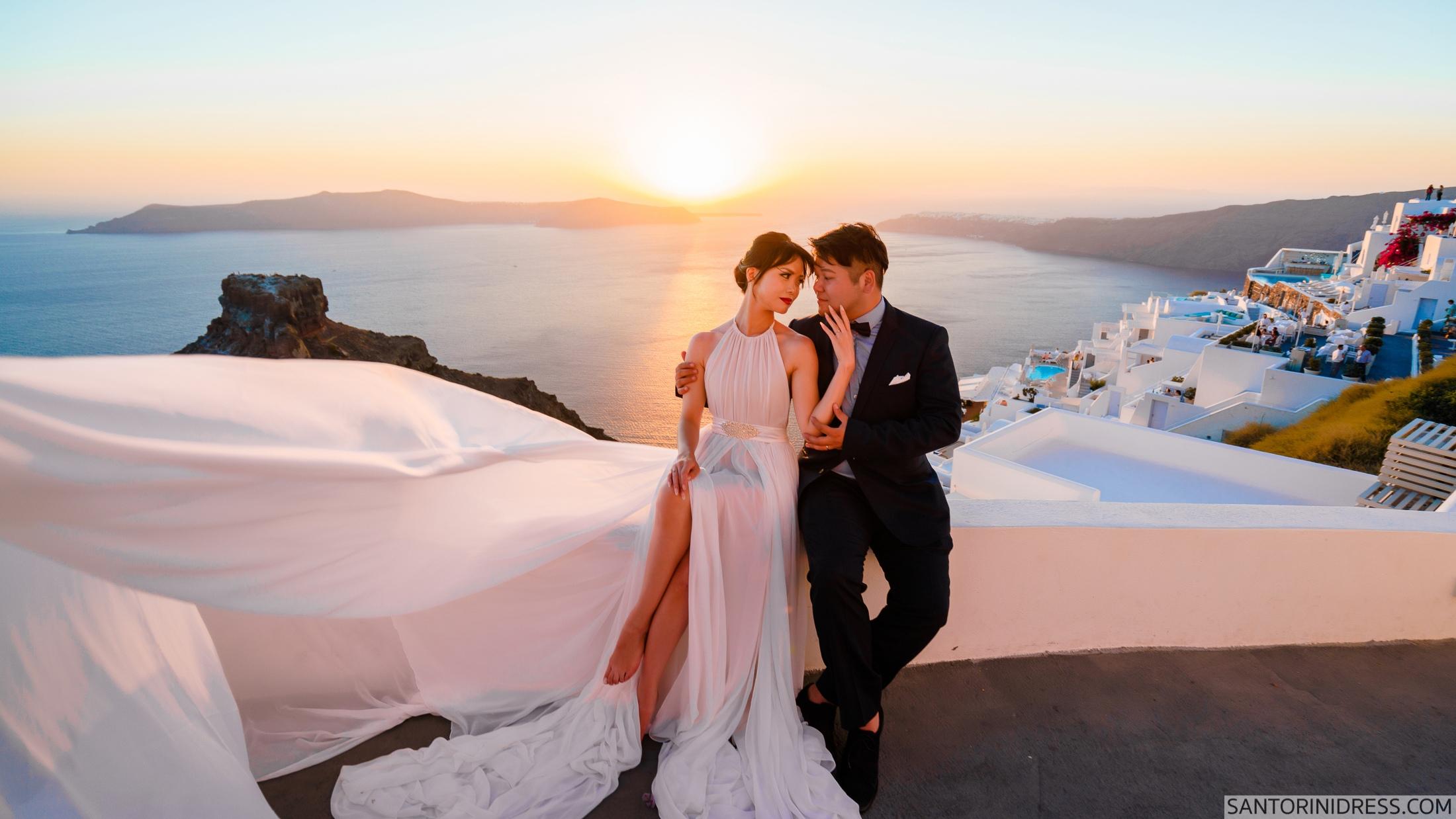 Миу и Чонг: свадьба на санторини, свадебное агентство Julia Veselova - Фото 12