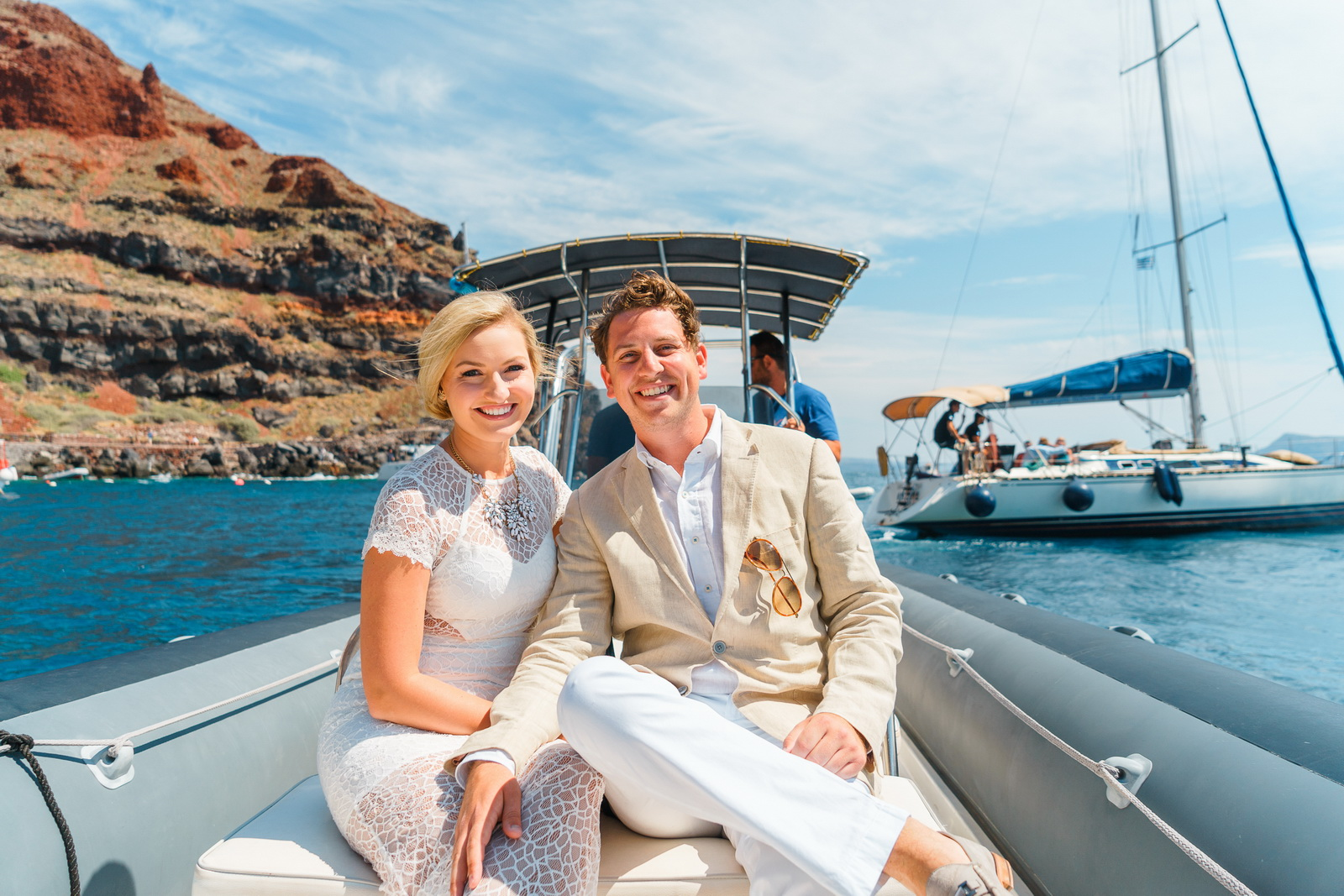 Аренда яхты: свадьба на санторини, свадебное агентство Julia Veselova - Фото 1