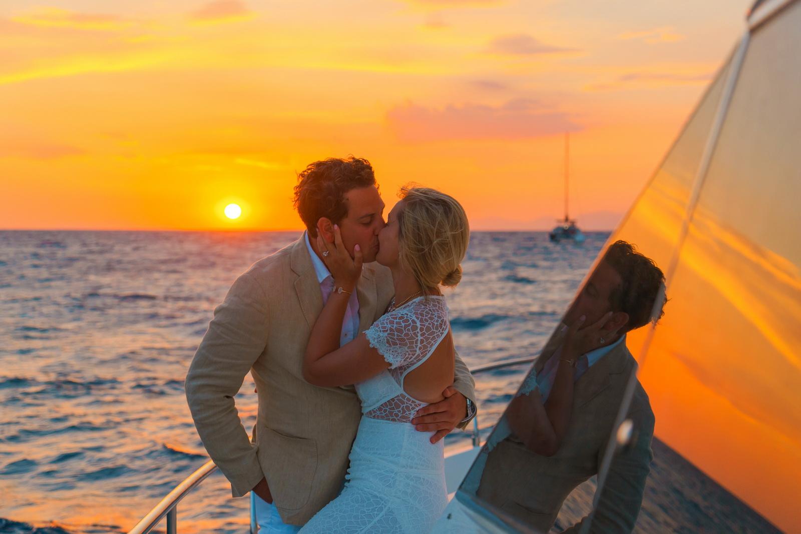 Аренда яхты: свадьба на санторини, свадебное агентство Julia Veselova - Фото 6