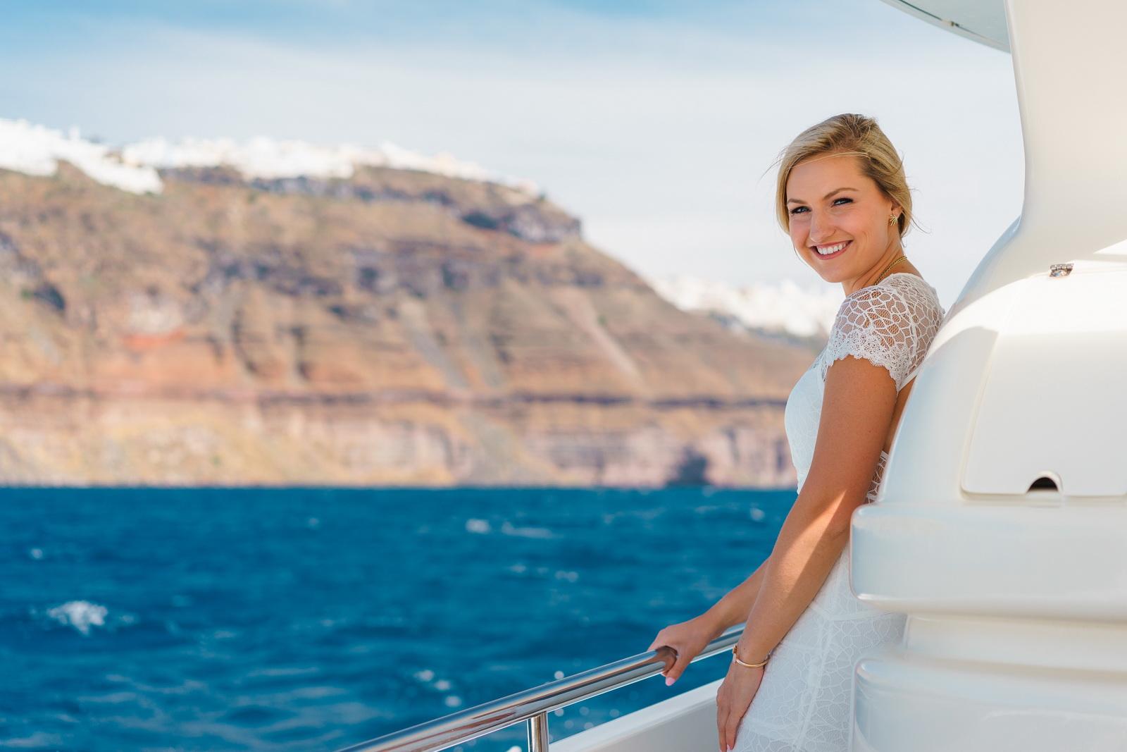 Аренда яхты: свадьба на санторини, свадебное агентство Julia Veselova - Фото 3
