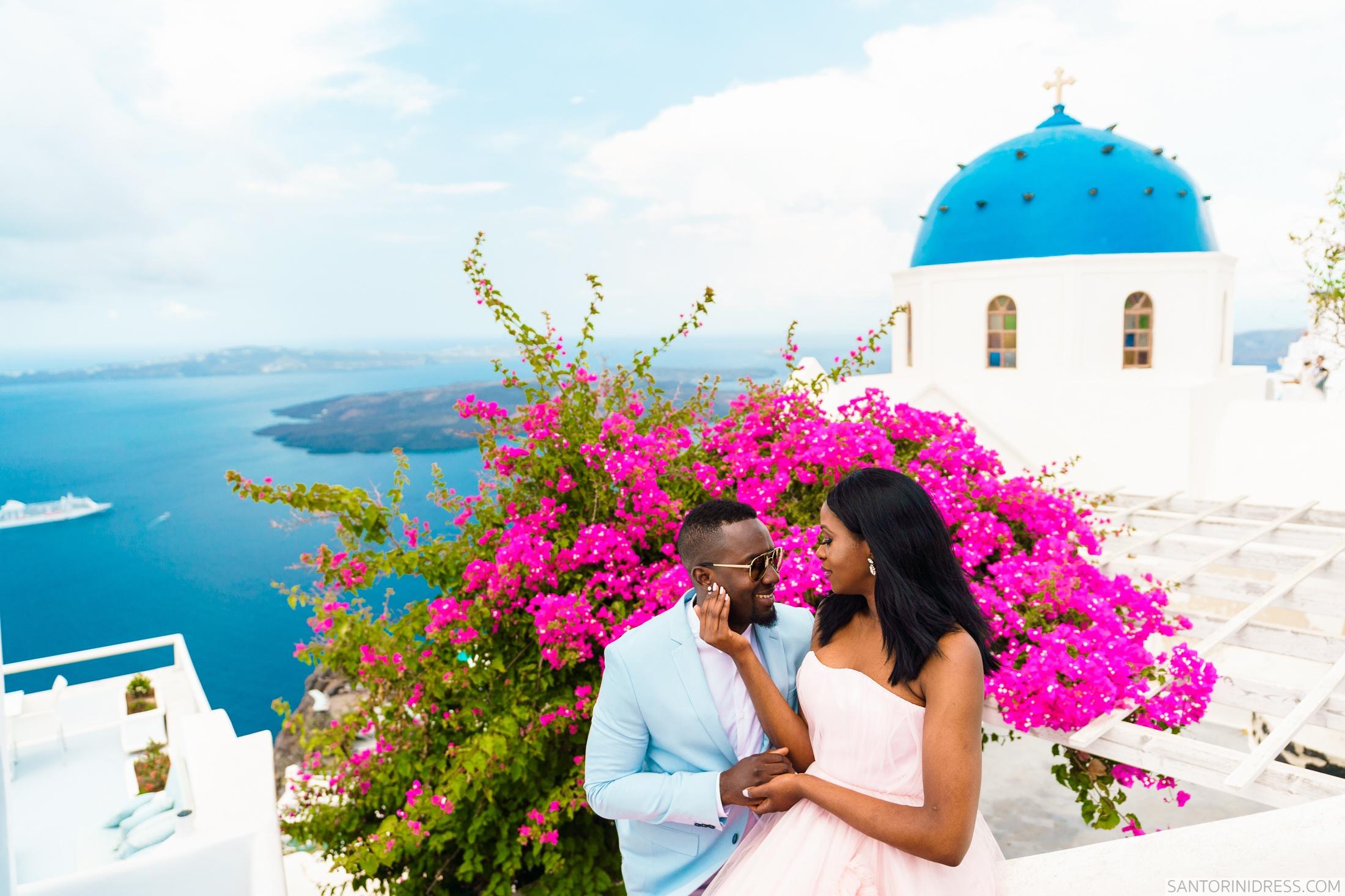 Розалин и Майкл: свадьба на санторини, свадебное агентство Julia Veselova - Фото 1