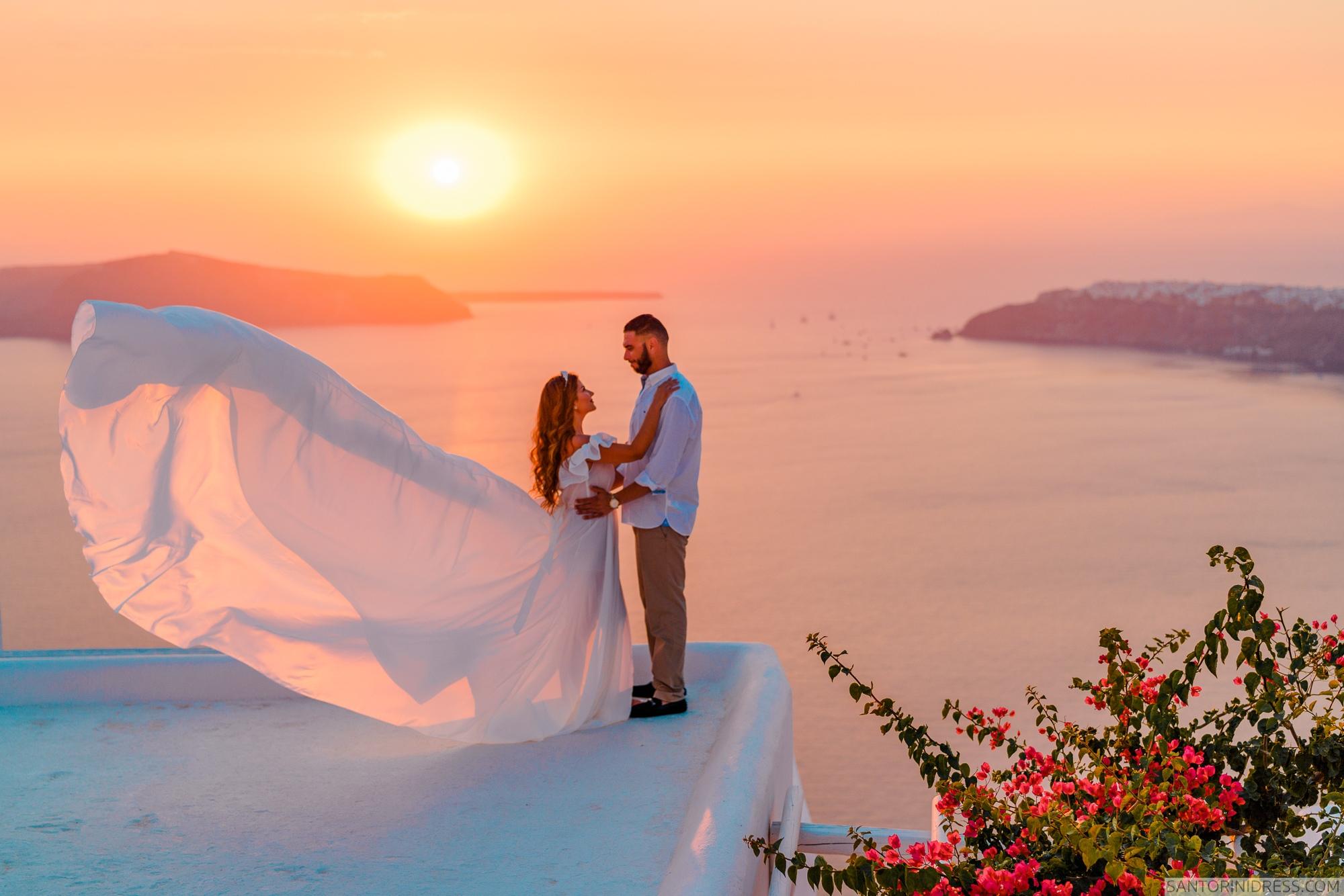 Gary Luci: свадьба на санторини, свадебное агентство Julia Veselova - Фото 1