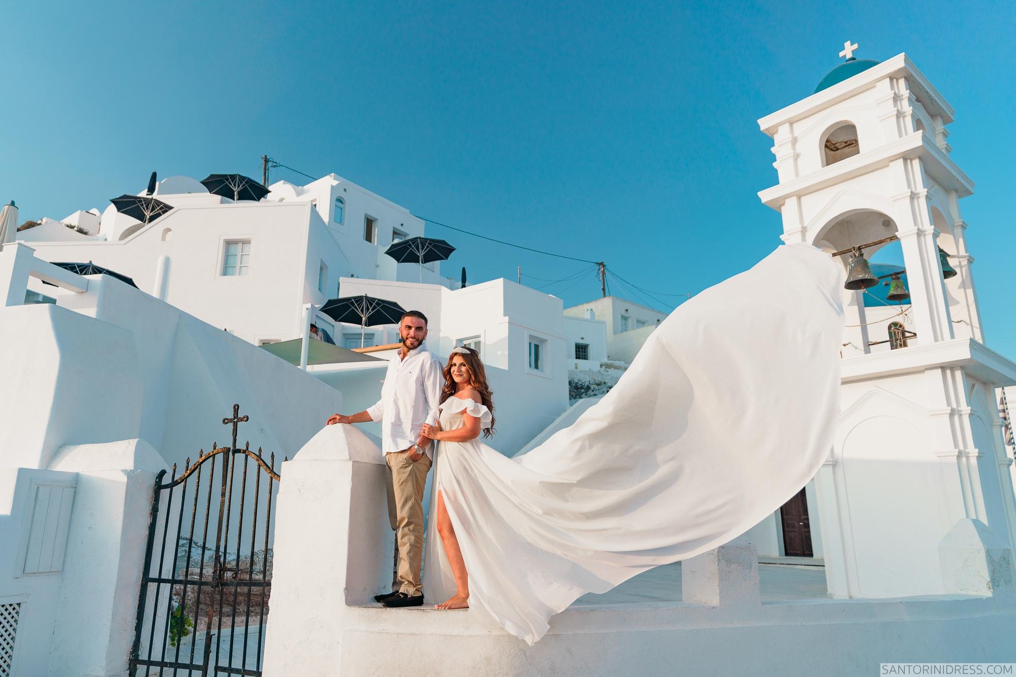 Gary Luci: свадьба на санторини, свадебное агентство Julia Veselova - Фото 2