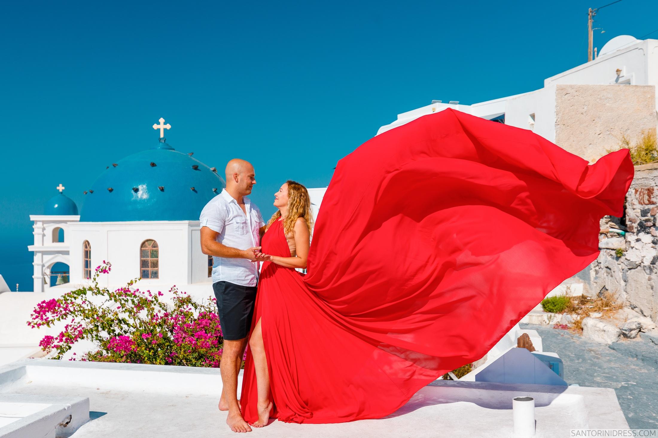 Стаса и Николай: свадьба на санторини, свадебное агентство Julia Veselova - Фото 6