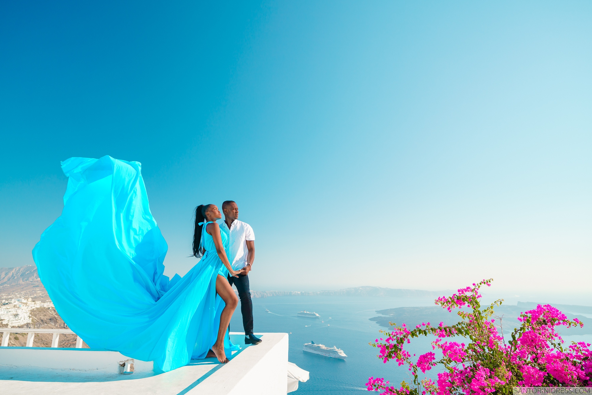 Freda: свадьба на санторини, свадебное агентство Julia Veselova - Фото 2
