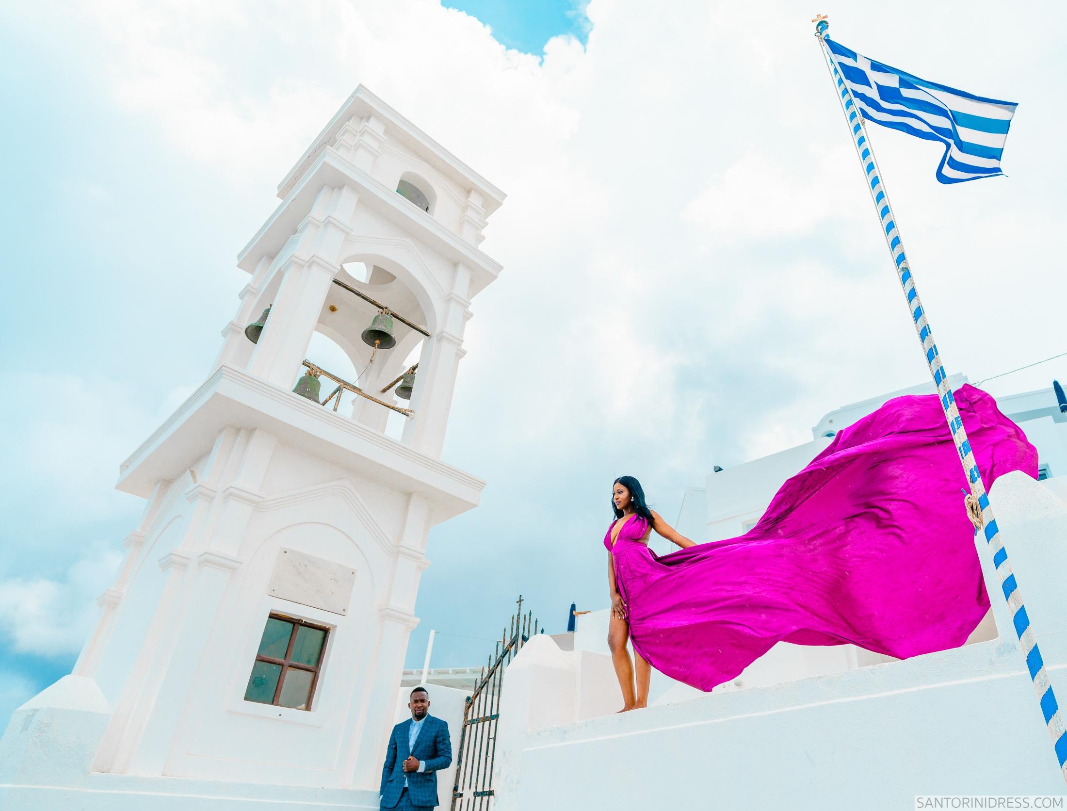 Розалин и Майкл: свадьба на санторини, свадебное агентство Julia Veselova - Фото 2
