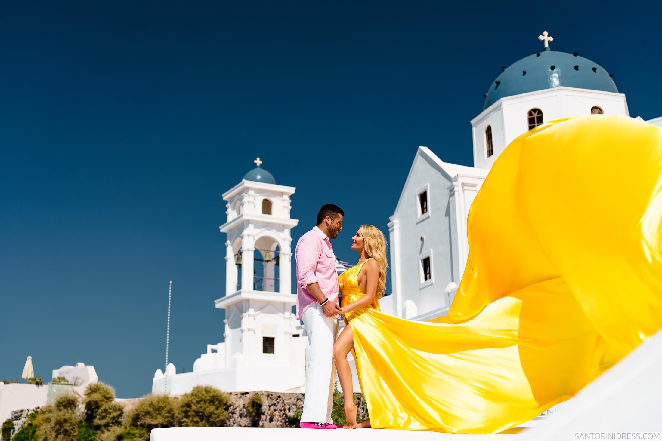 Моника: свадьба на санторини, свадебное агентство Julia Veselova - Фото 2