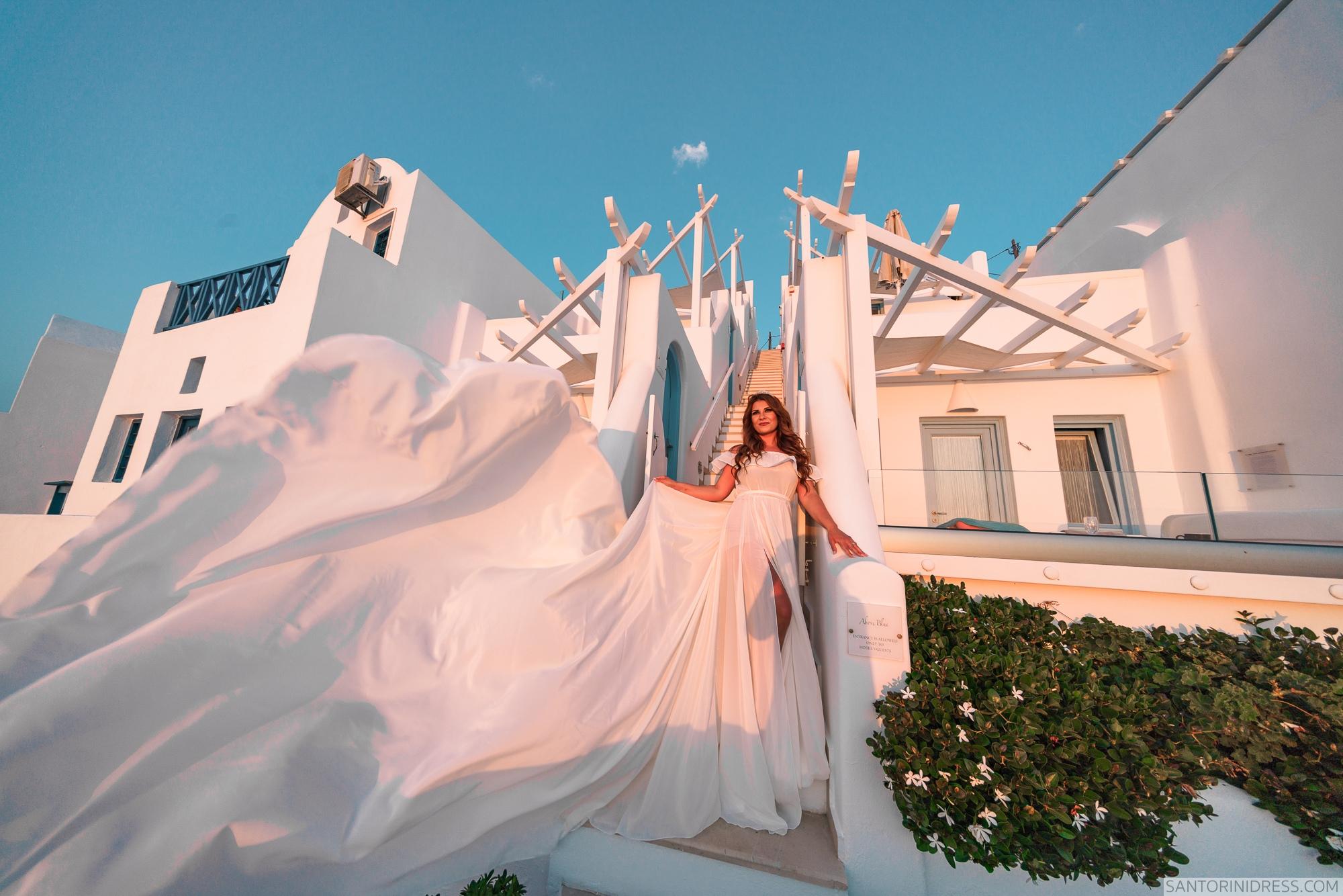 Gary Luci: свадьба на санторини, свадебное агентство Julia Veselova - Фото 3