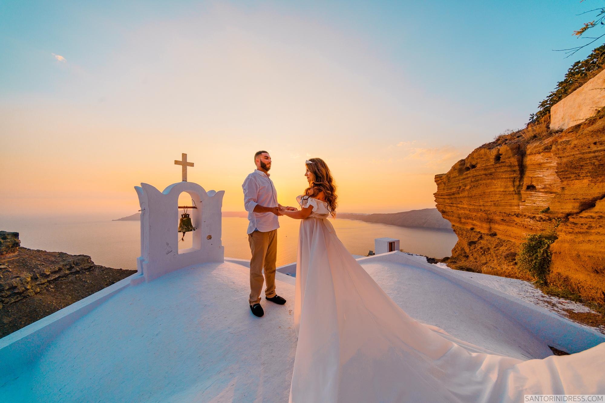 Gary Luci: свадьба на санторини, свадебное агентство Julia Veselova - Фото 4