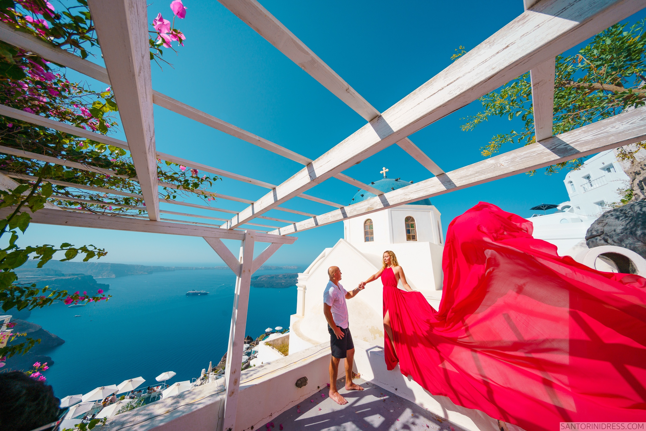 Стаса и Николай: свадьба на санторини, свадебное агентство Julia Veselova - Фото 8