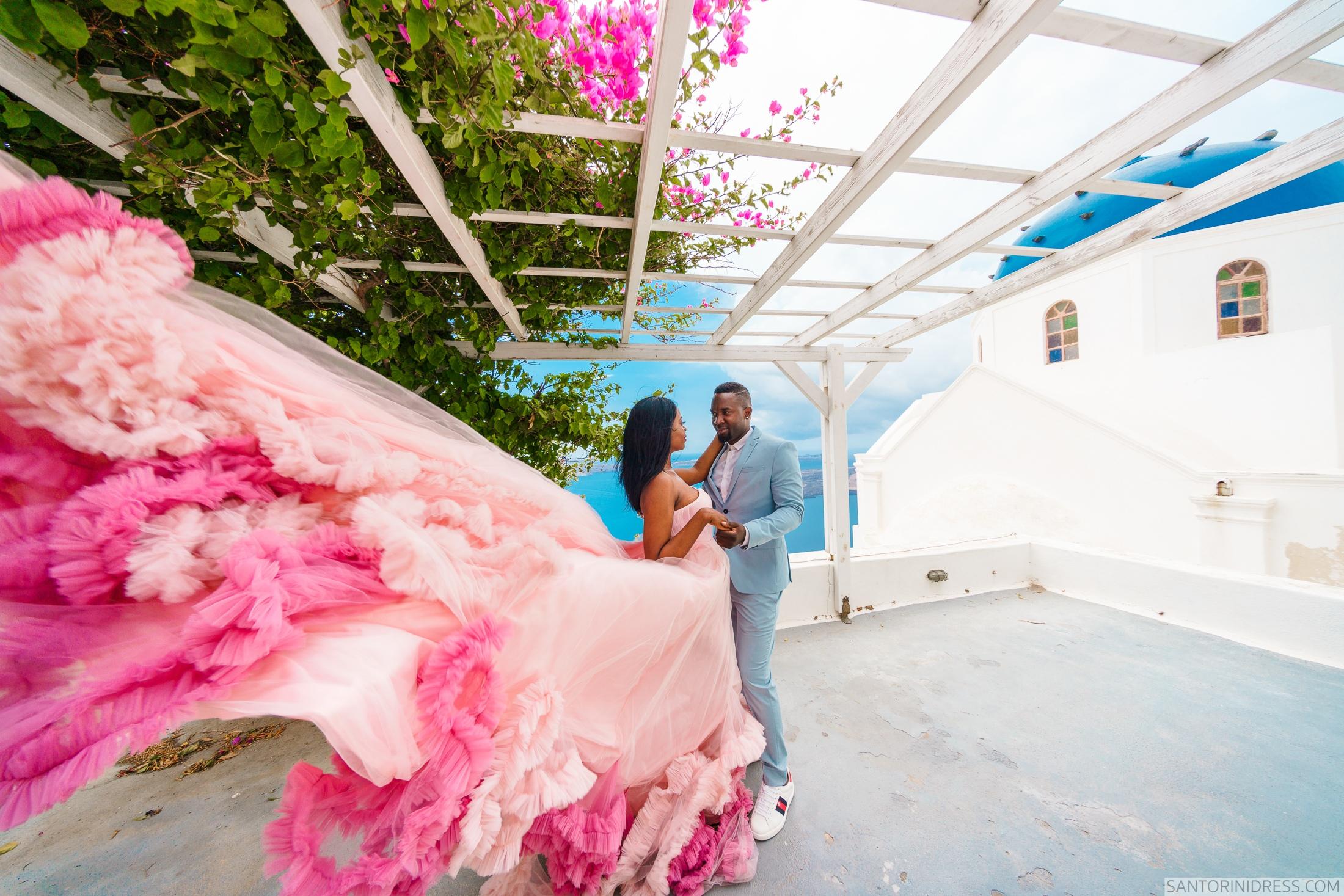 Розалин и Майкл: свадьба на санторини, свадебное агентство Julia Veselova - Фото 3