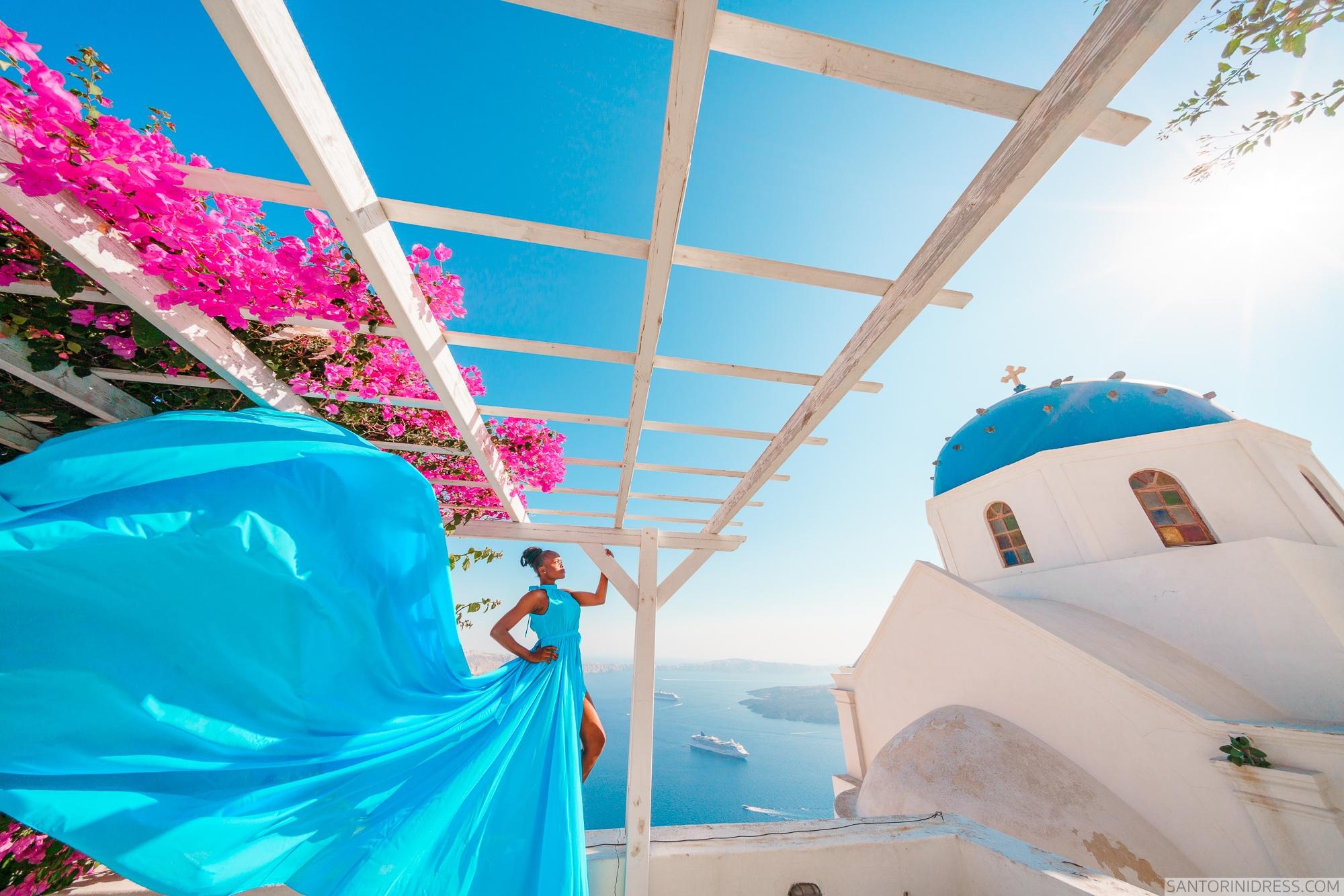 Freda: свадьба на санторини, свадебное агентство Julia Veselova - Фото 5