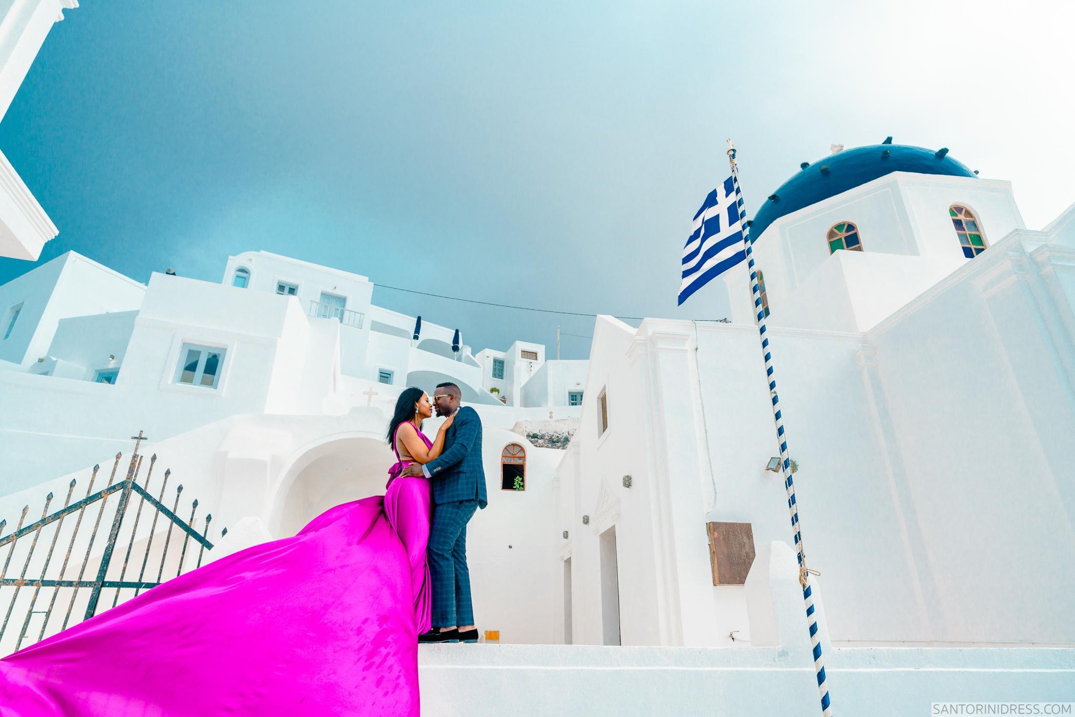 Розалин и Майкл: свадьба на санторини, свадебное агентство Julia Veselova - Фото 5
