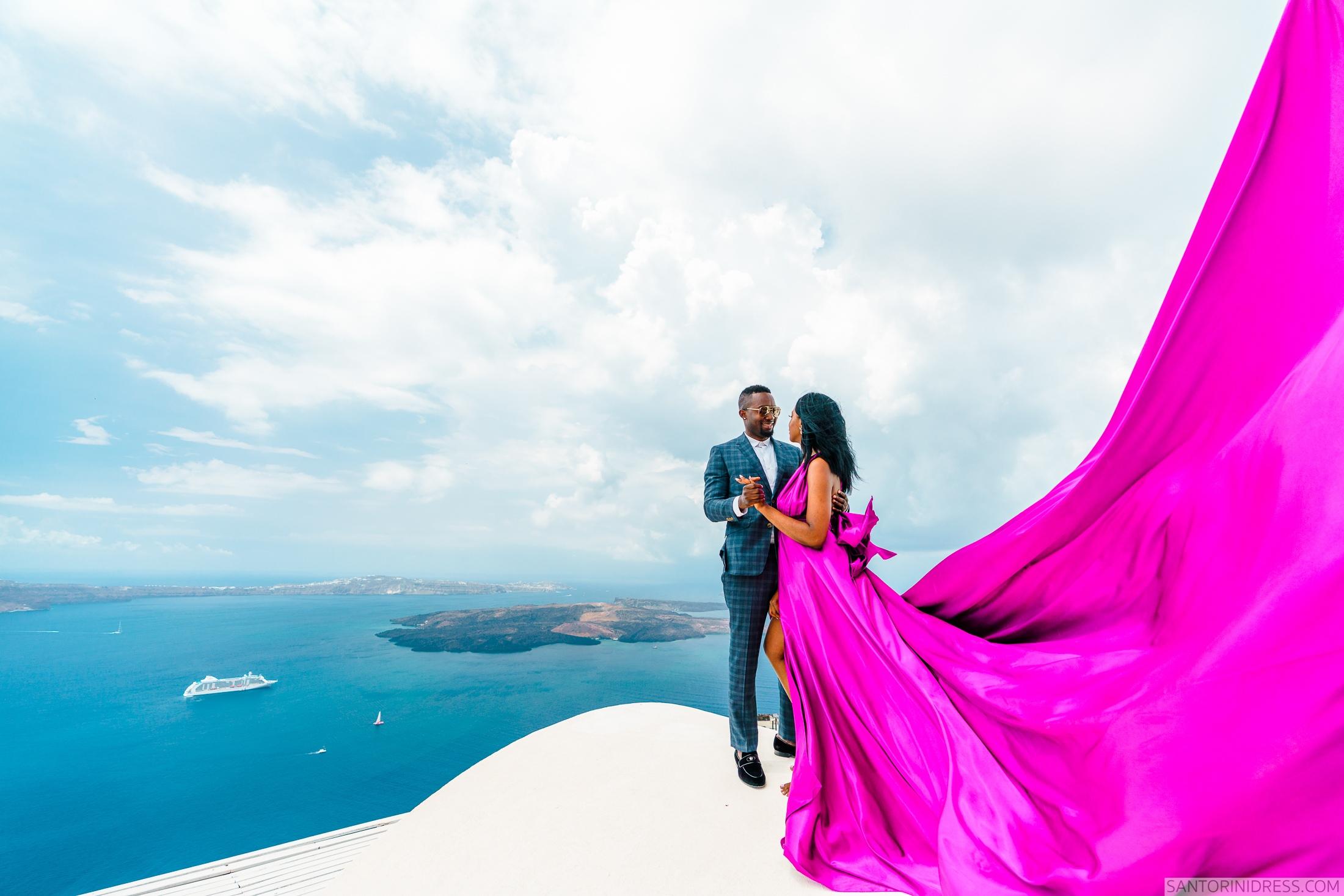 Розалин и Майкл: свадьба на санторини, свадебное агентство Julia Veselova - Фото 6