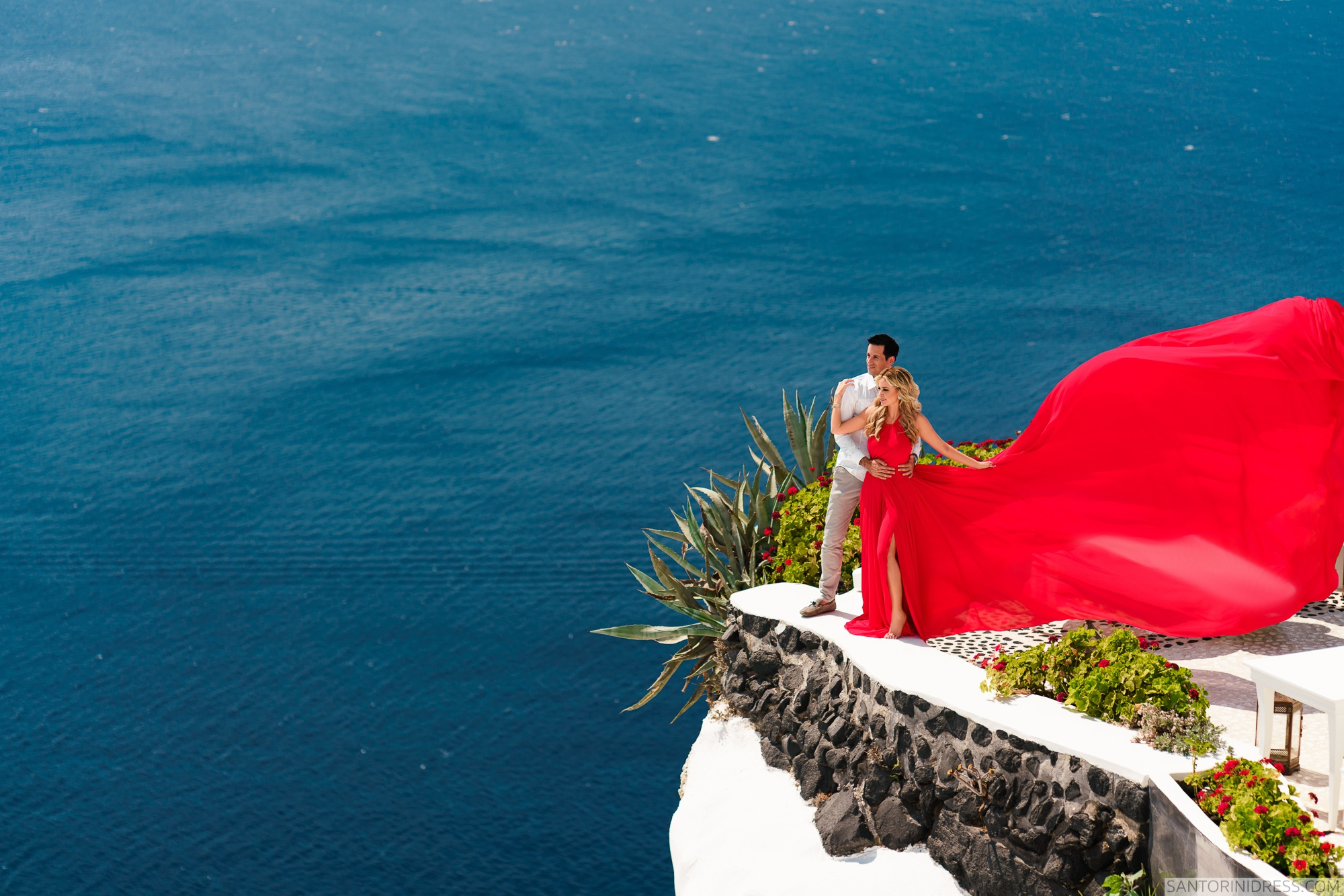 Сабрина и Джастин: свадьба на санторини, свадебное агентство Julia Veselova - Фото 4