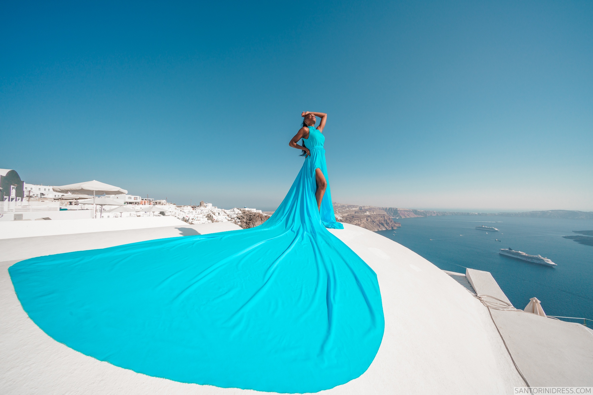 Freda: свадьба на санторини, свадебное агентство Julia Veselova - Фото 8