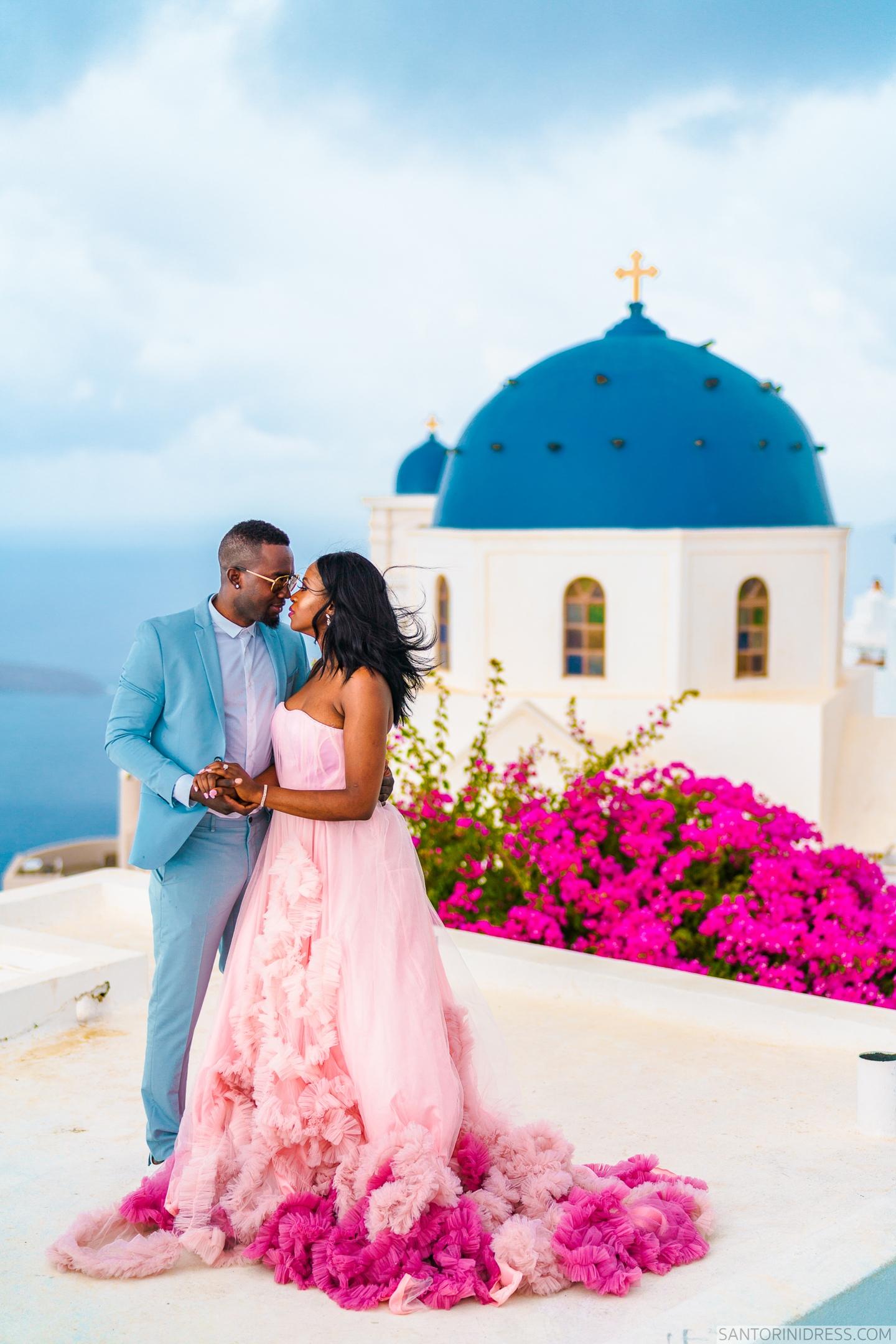 Розалин и Майкл: свадьба на санторини, свадебное агентство Julia Veselova - Фото 7