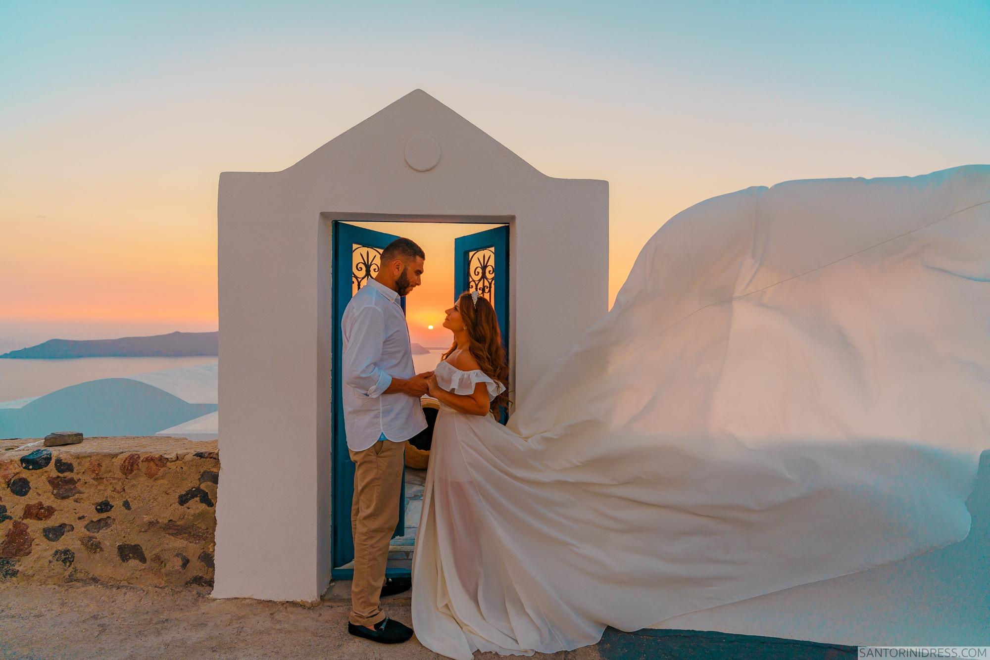 Gary Luci: свадьба на санторини, свадебное агентство Julia Veselova - Фото 6