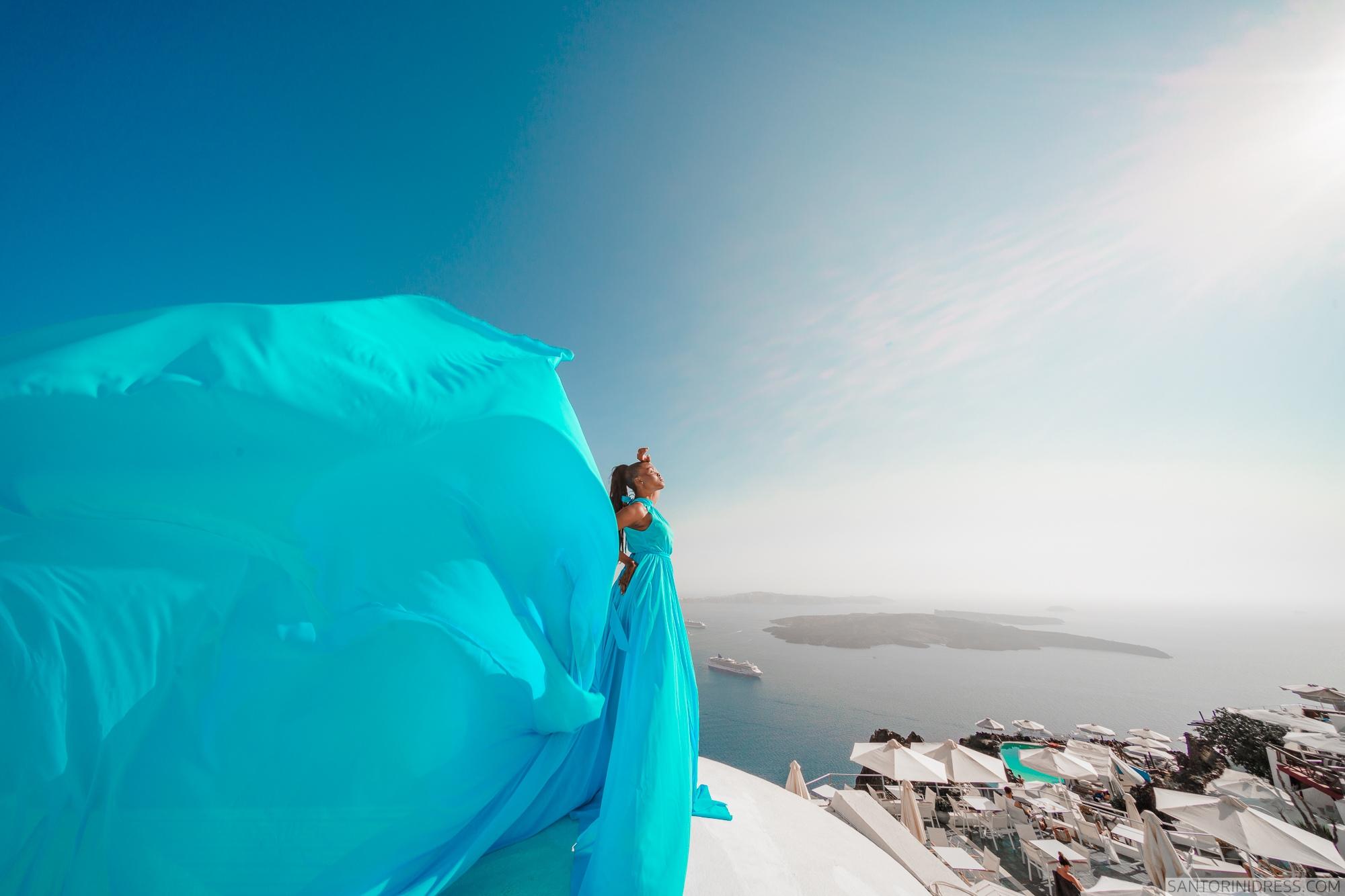 Freda: свадьба на санторини, свадебное агентство Julia Veselova - Фото 6