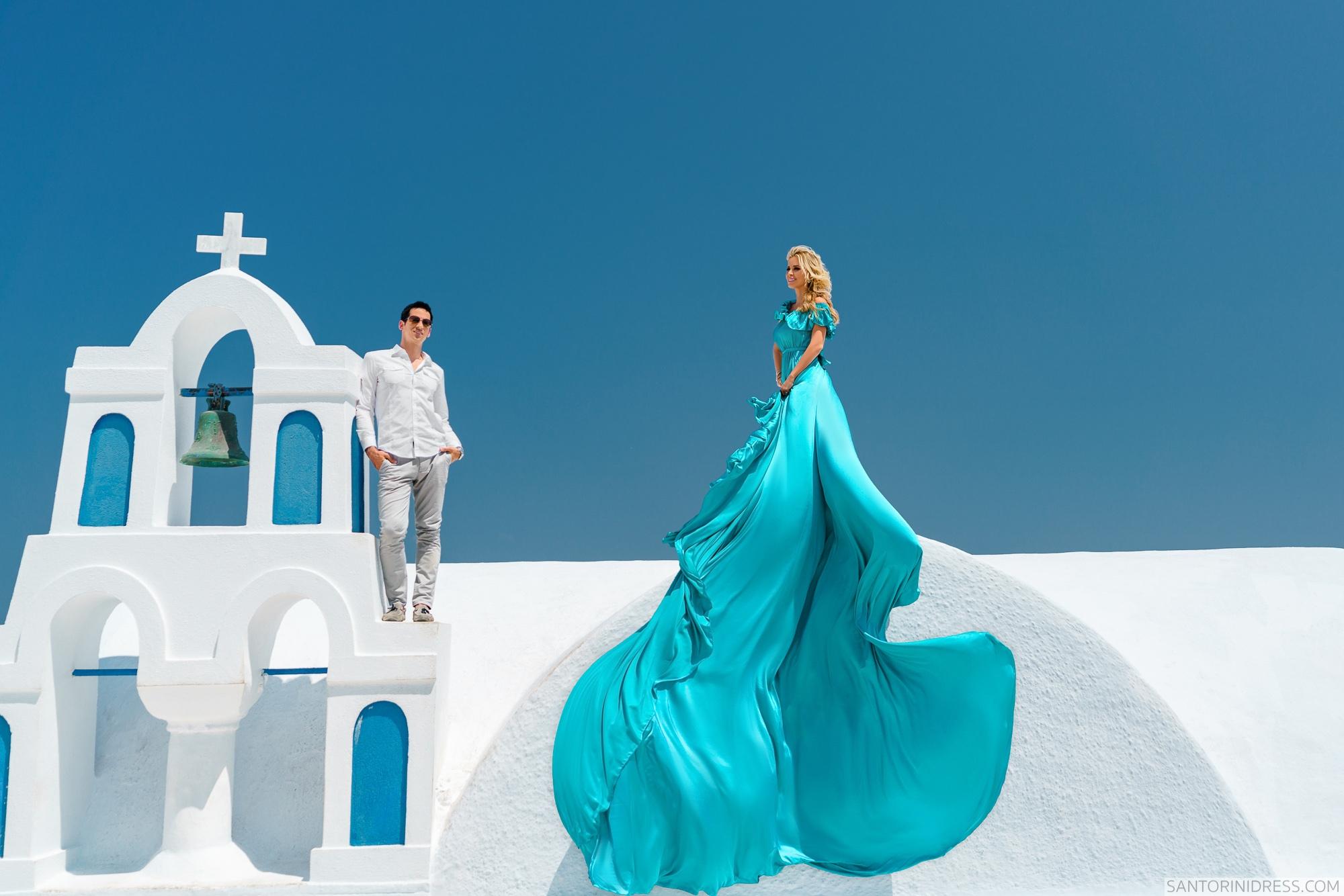 Сабрина и Джастин: свадьба на санторини, свадебное агентство Julia Veselova - Фото 3
