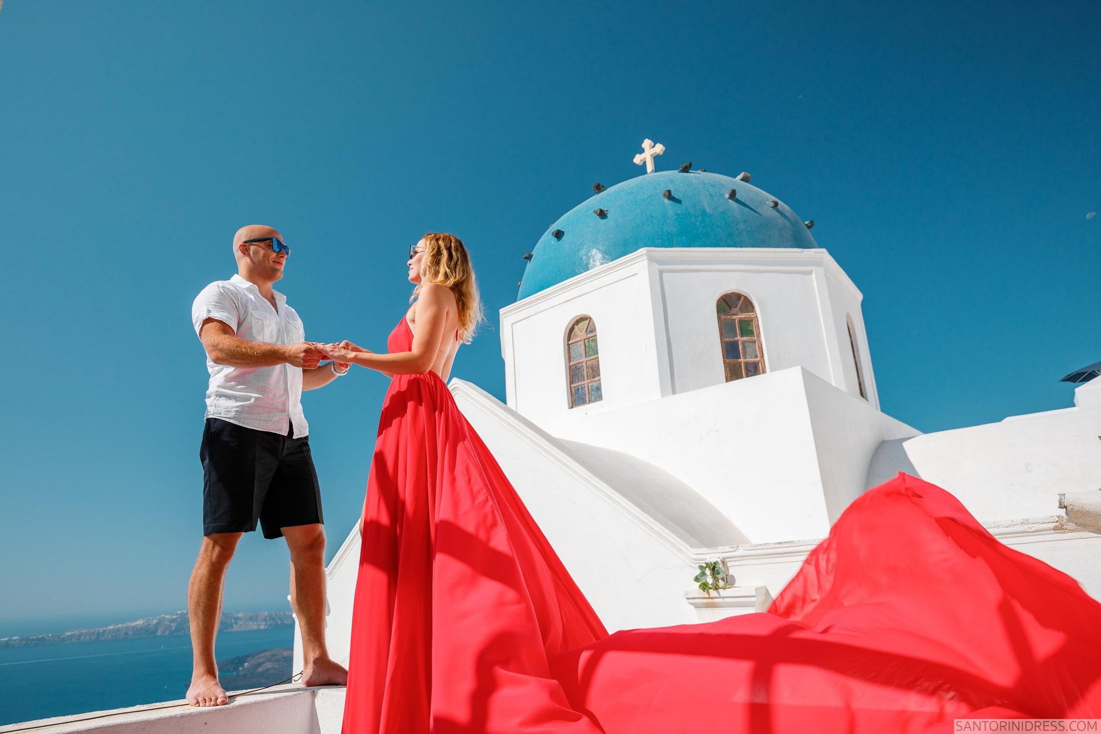 Стаса и Николай: свадьба на санторини, свадебное агентство Julia Veselova - Фото 2