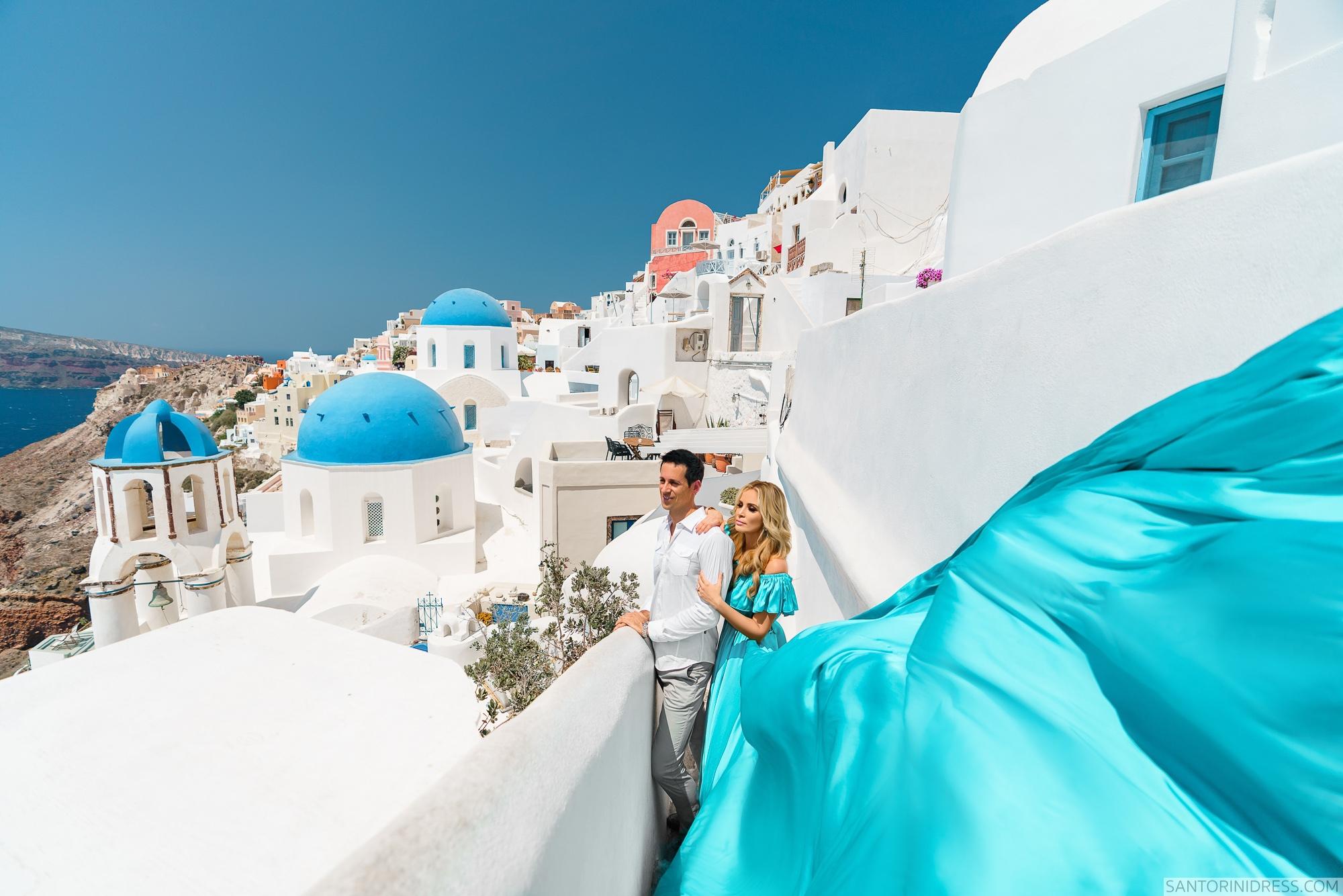Сабрина и Джастин: свадьба на санторини, свадебное агентство Julia Veselova - Фото 2