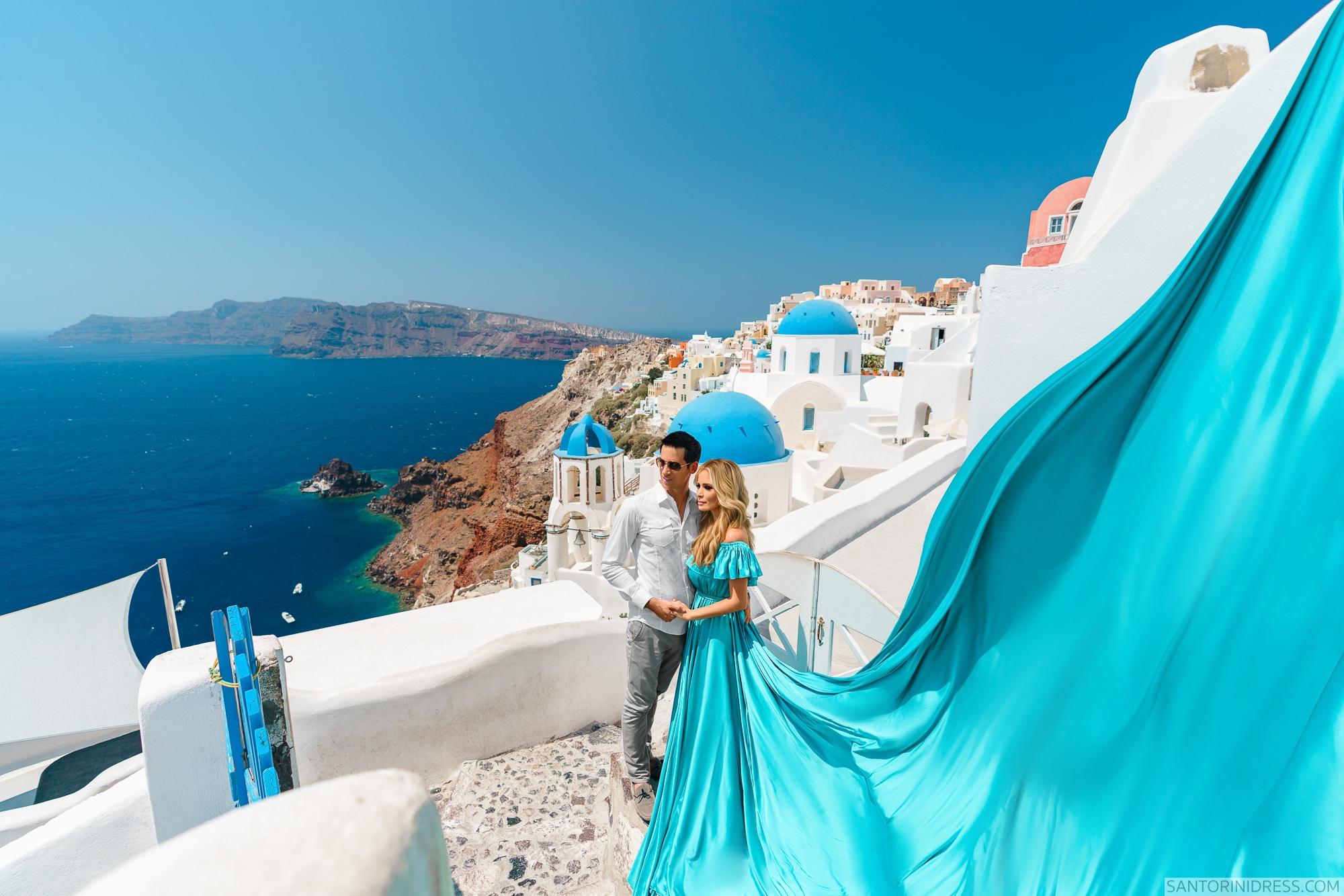 Сабрина и Джастин: свадьба на санторини, свадебное агентство Julia Veselova - Фото 1