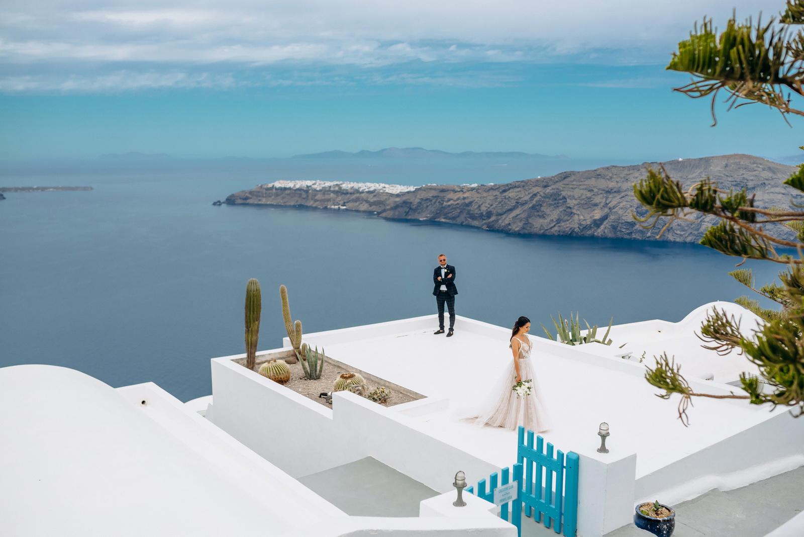 Александра и Евгений: свадьба на санторини, свадебное агентство Julia Veselova - Фото 13