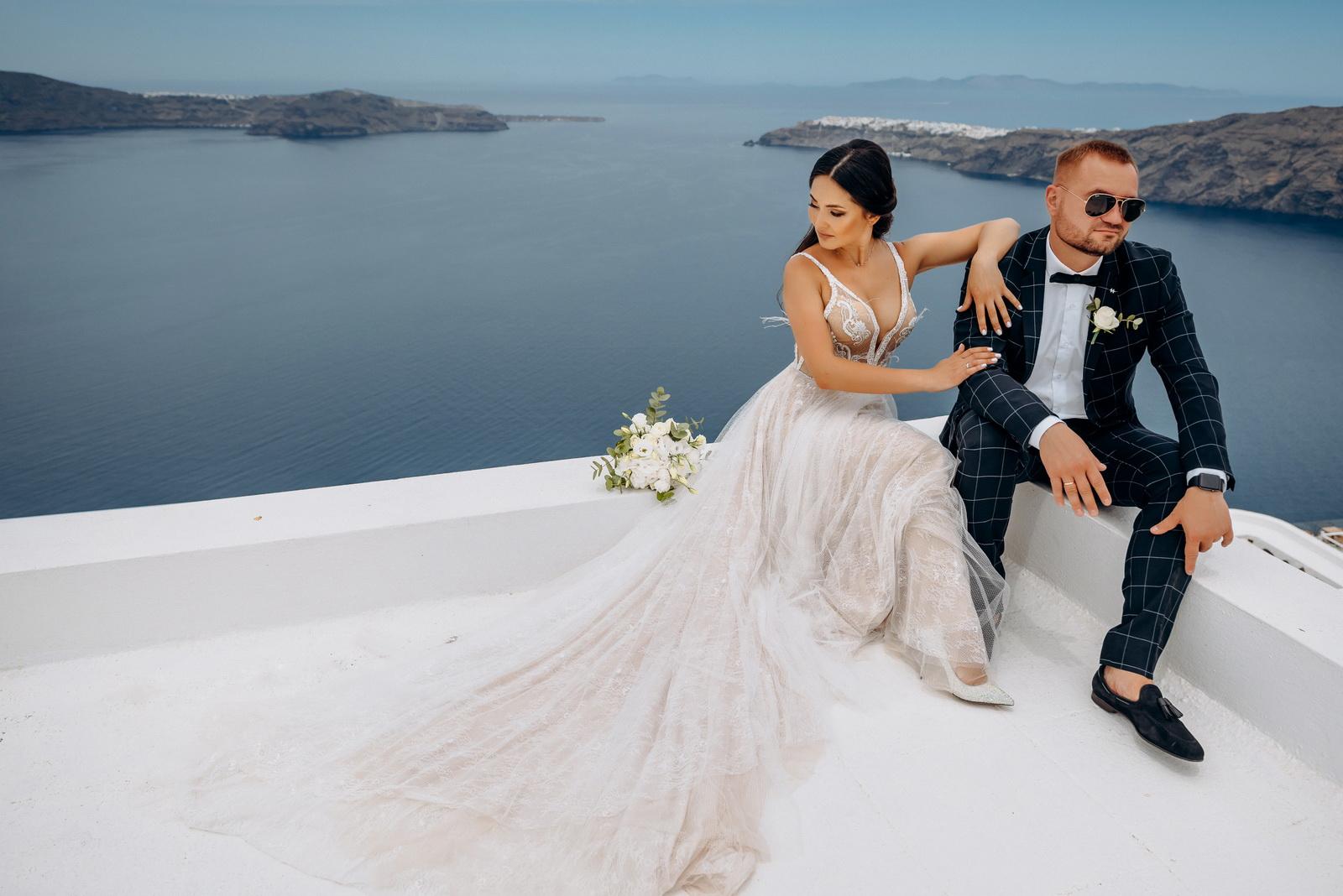 Александра и Евгений: свадьба на санторини, свадебное агентство Julia Veselova - Фото 14