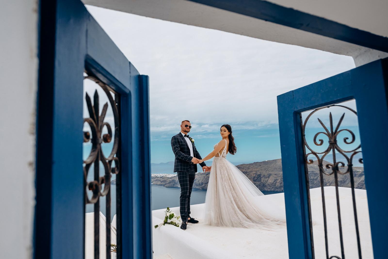 Александра и Евгений: свадьба на санторини, свадебное агентство Julia Veselova - Фото 1