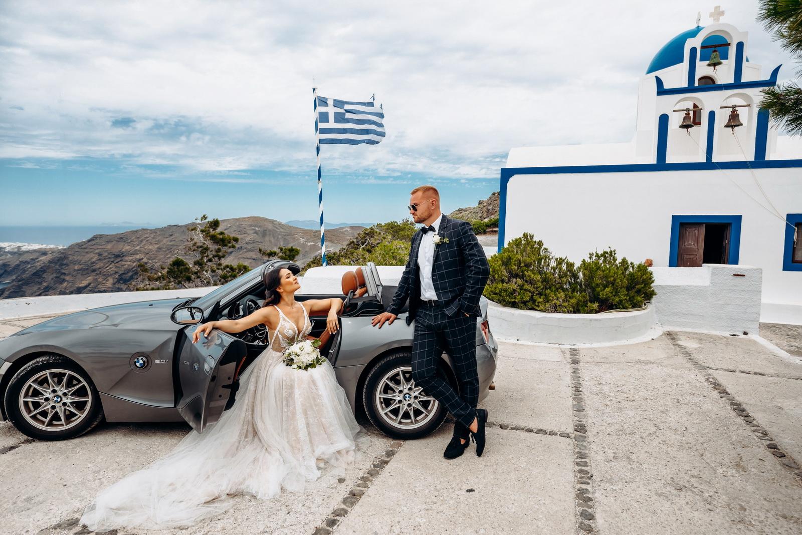 Александра и Евгений: свадьба на санторини, свадебное агентство Julia Veselova - Фото 5